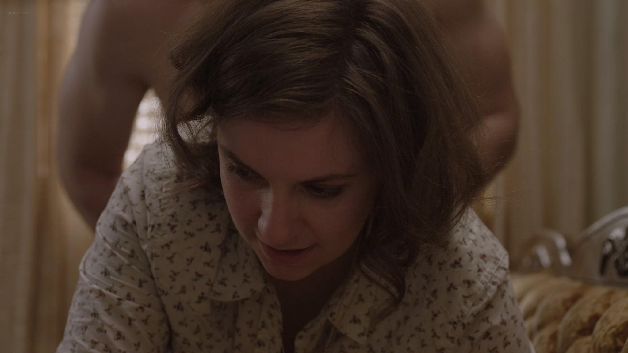 Allison Williams sex doggy style Lena Dunham nude Girls 2012 s1e1 2 1080p Web 6