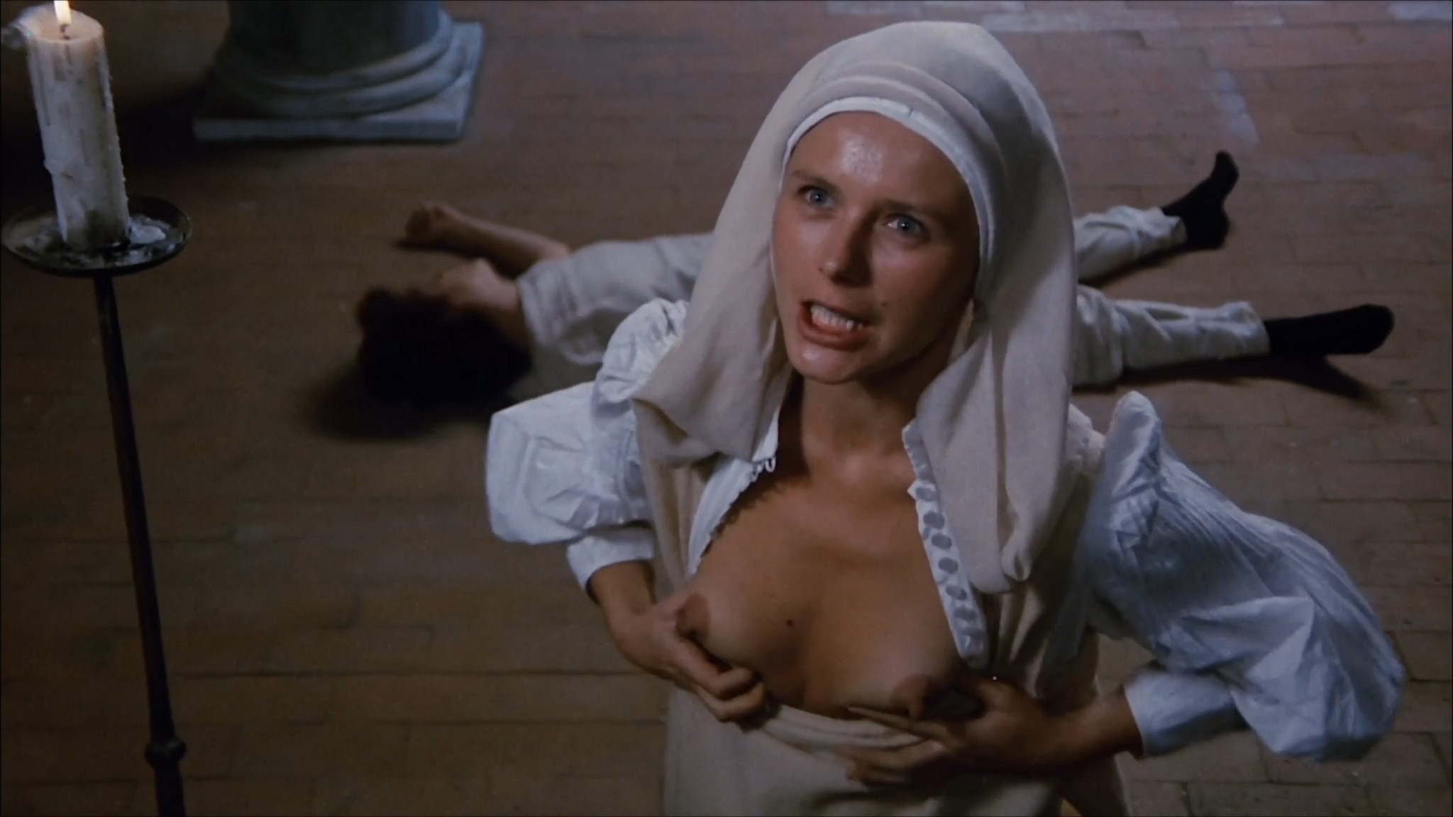 Florinda Bolkan nude Raika Juri nude full frontal and sex Flavia the Heretic 1974 1080p BluRay