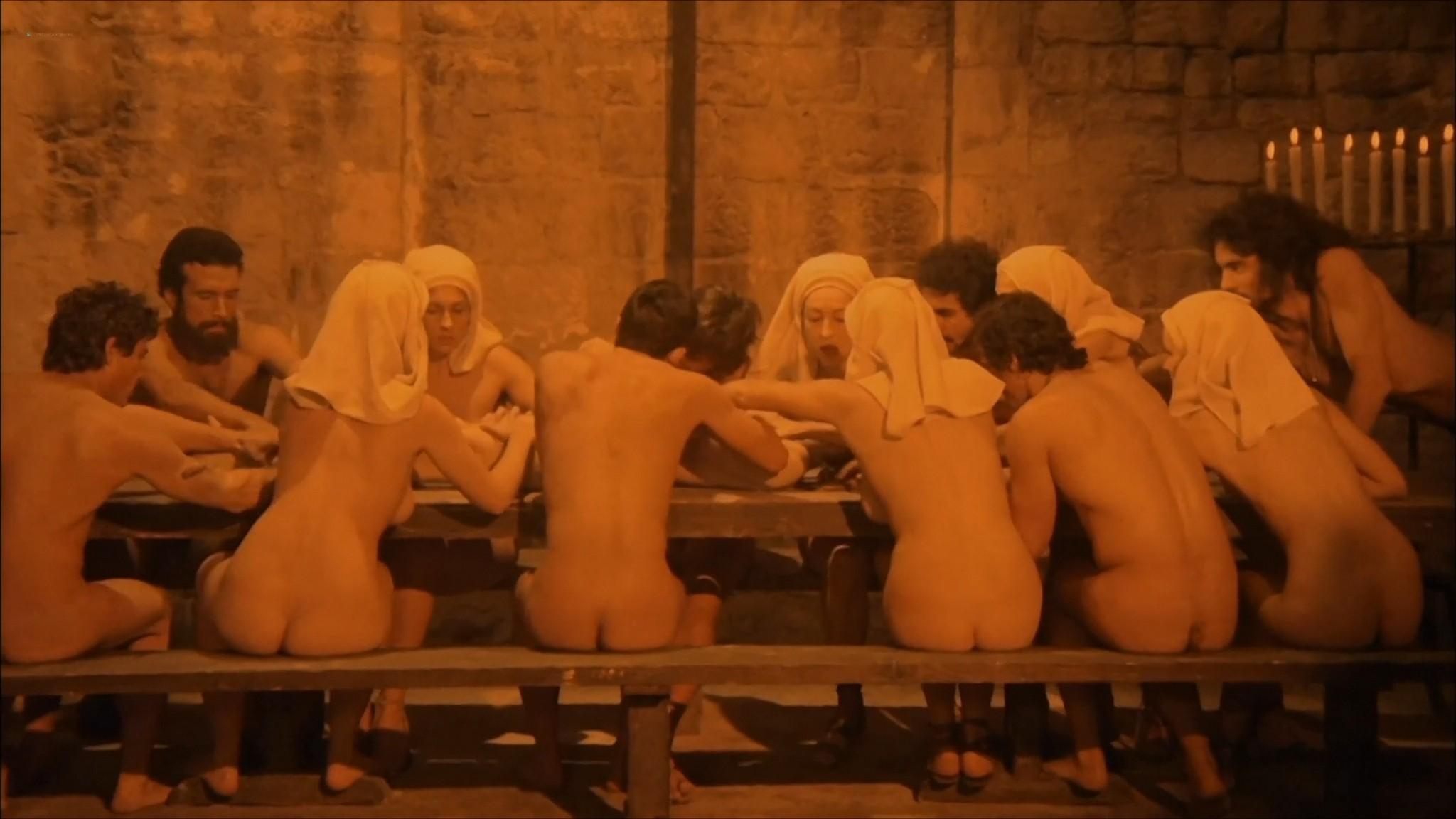 Florinda Bolkan nude Raika Juri nude full frontal and sex Flavia the Heretic 1974 1080p BluRay 12