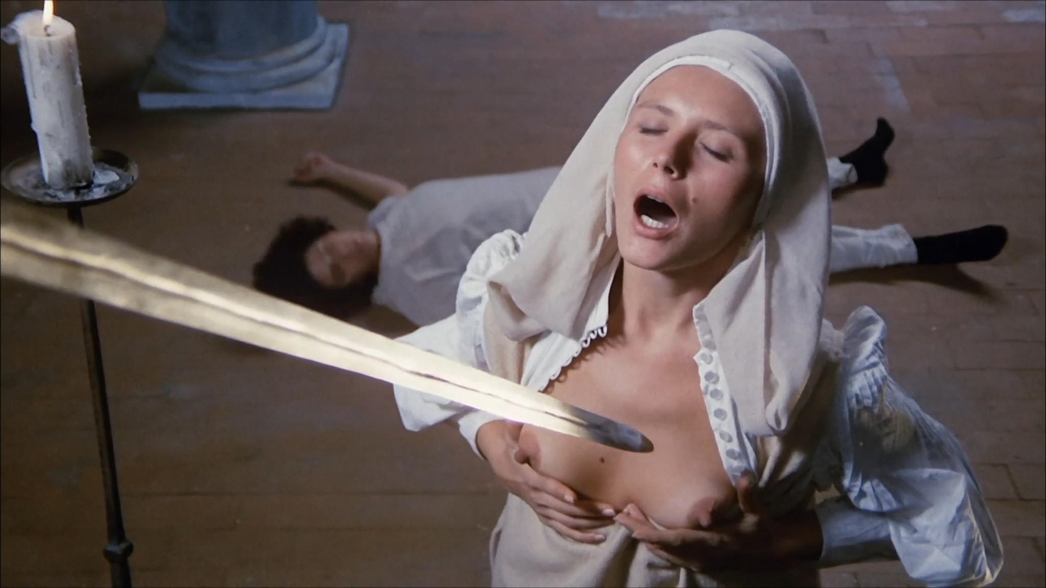 Florinda Bolkan nude Raika Juri nude full frontal and sex Flavia the Heretic 1974 1080p BluRay 2