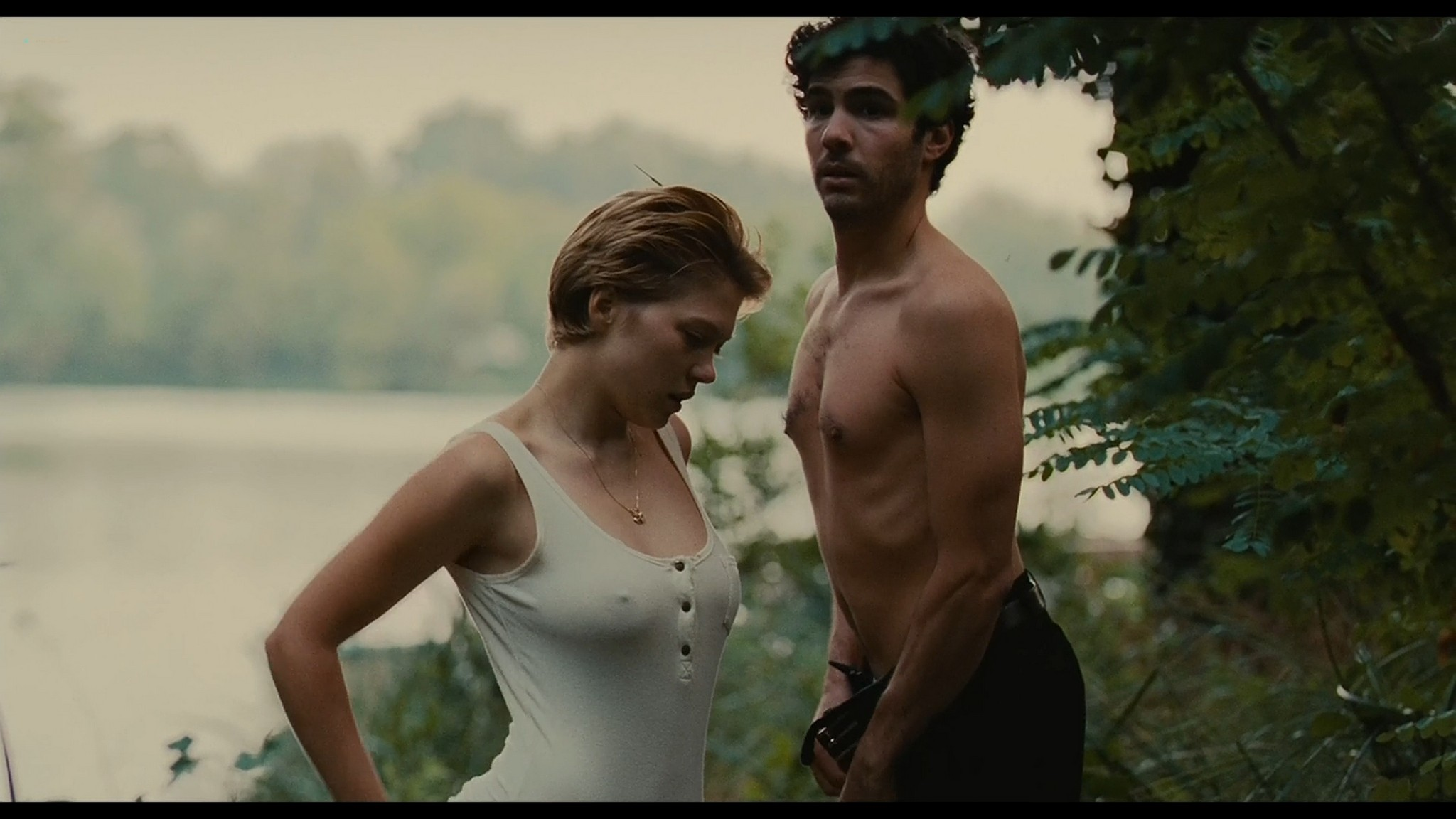 Lea Seydoux nude full frontal bush and sex Grand Central 2013 HD 1080p BluRay 6