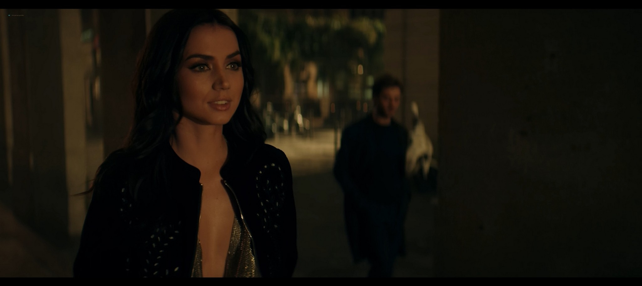 Ana de Armas hot and sexy Entering Red 2019 1080p Web 6