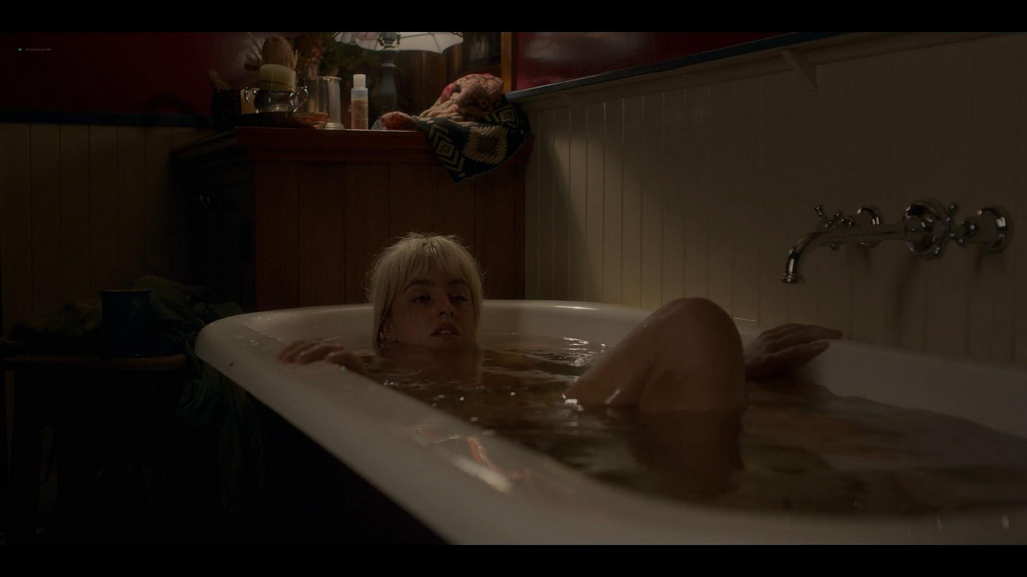 BeBe Bettencourt sexy Sophie Wilde Priscilla Doueihy hot lesbian sex Eden AU 2021 s1e4 8 1080p Web 14