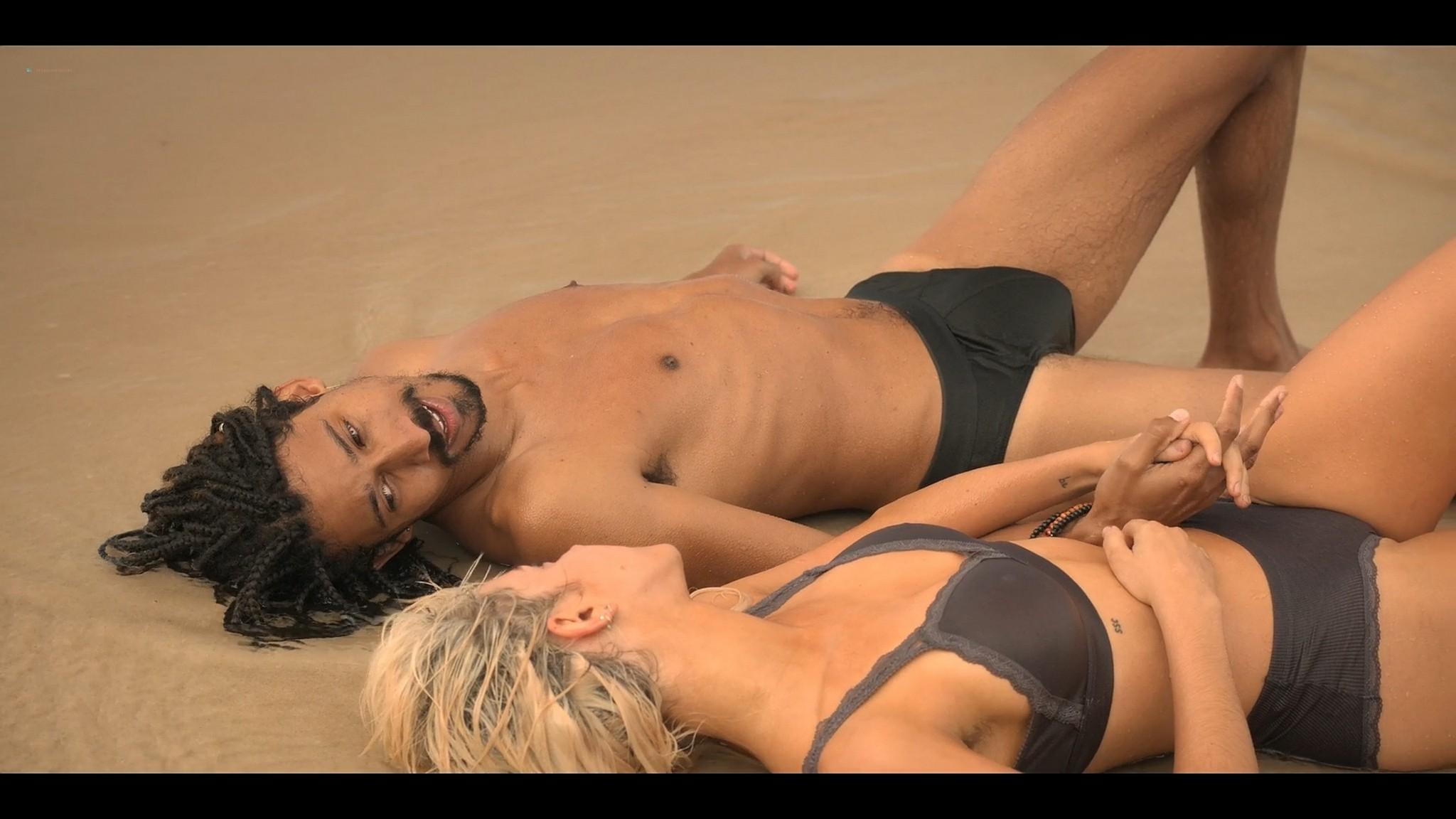BeBe Bettencourt sexy Sophie Wilde Priscilla Doueihy hot lesbian sex Eden AU 2021 s1e4 8 1080p Web 7