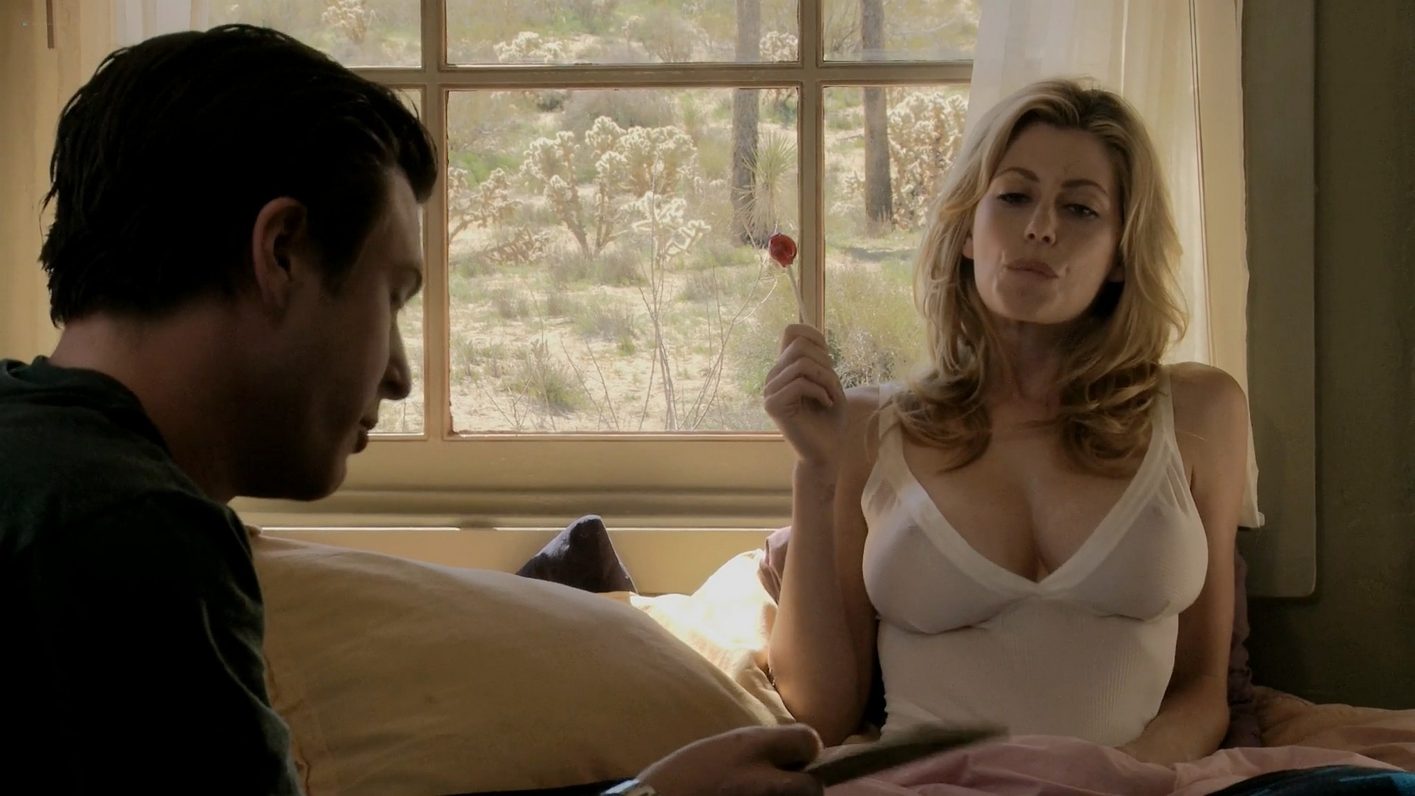 Diora Baird nude busty topless in the shower Quit 2010 1080p Web 10