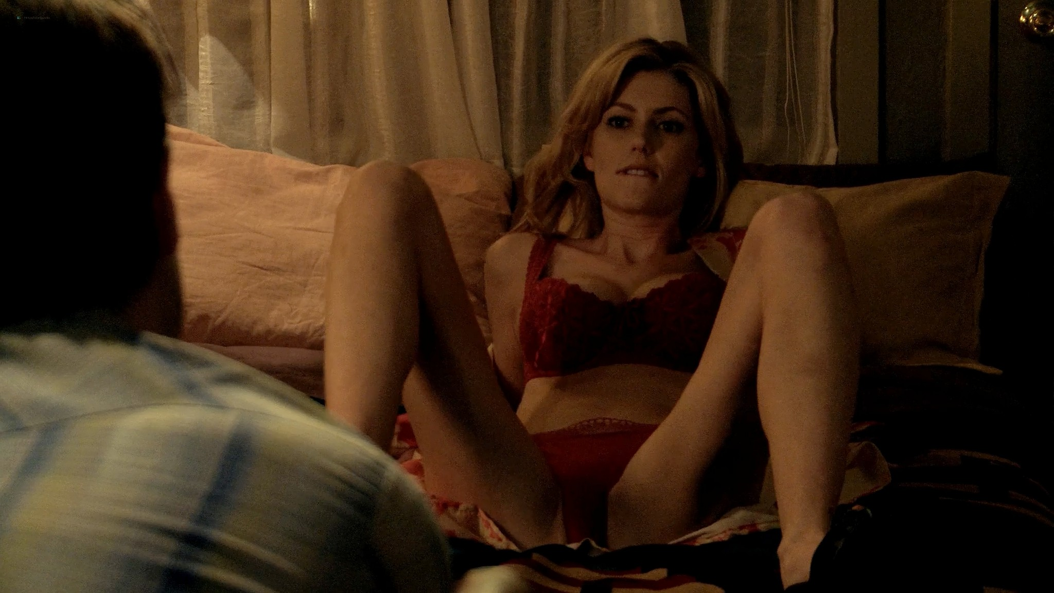 Diora Baird nude busty topless in the shower Quit 2010 1080p Web 5