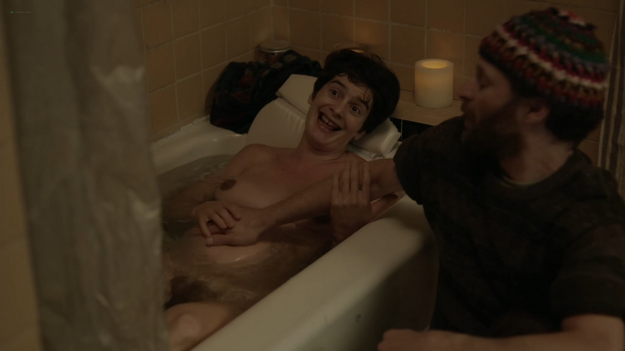 Gaby Hoffmann nude bush Allison Williams Lena Dunham hot Girls 2012 s4 1080p Web 17