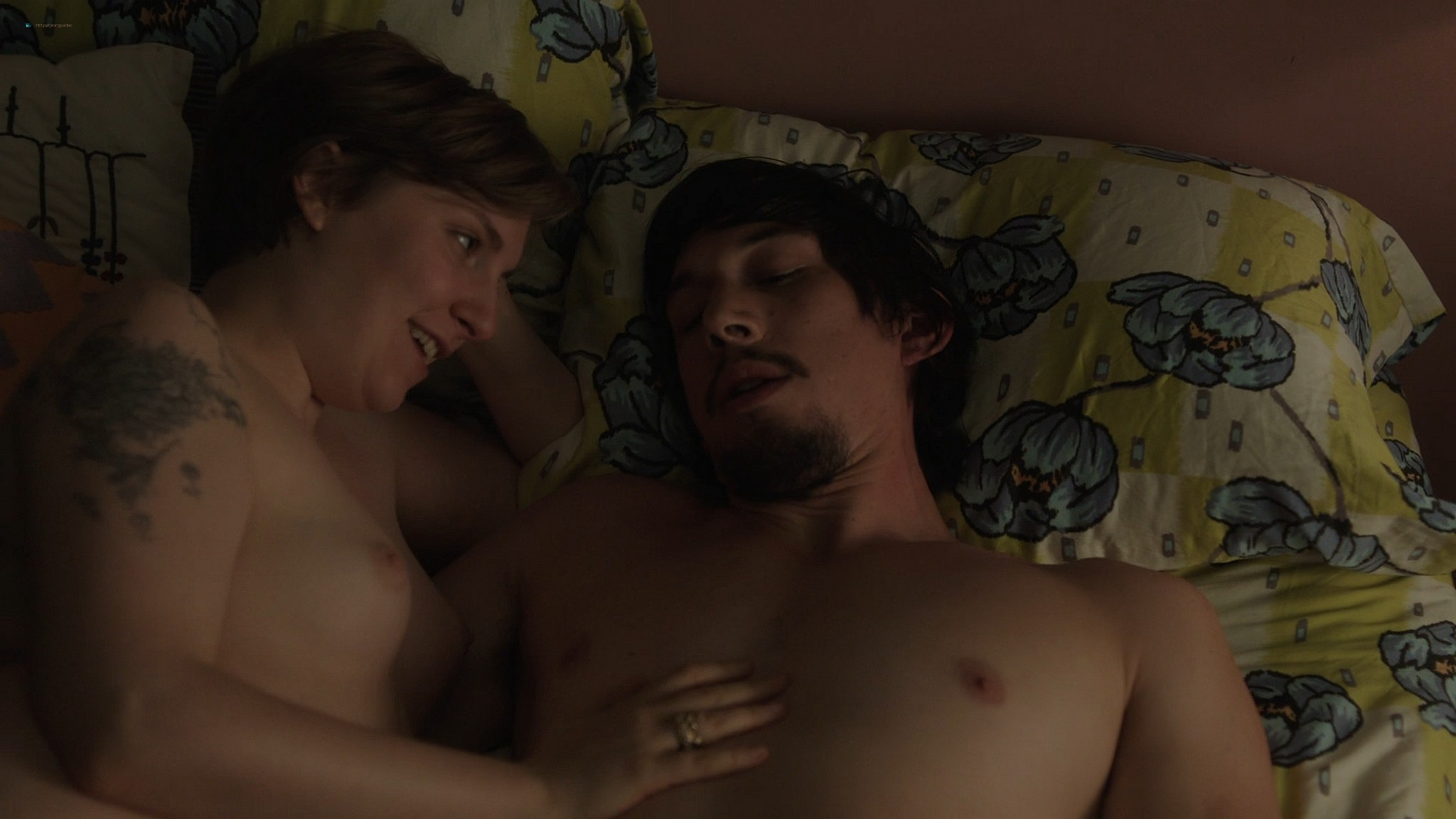 Gaby Hoffmann nude full frontal Allison Williams sex Lena Dunham nude Girls 2012 s3e1 5 1080p Web