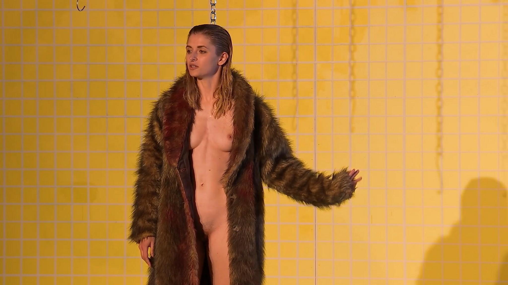 Laura Roberta Kuhr nude full frontal and labia Die Herrmannsschlacht 2020 1080p 14