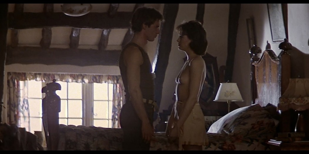 Lesley Anne Down nude topless and sex Hanover Street 1979 1080p Web 3