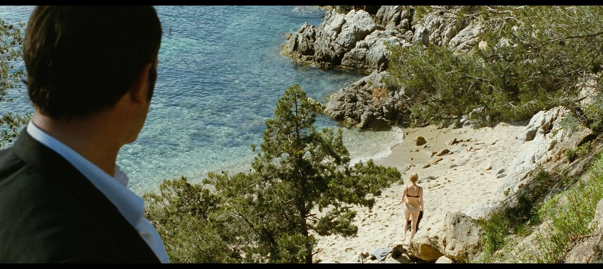 Marie Josee Croze nude wet and sex Un balcon sur la mer FR 2010 BluRay 6