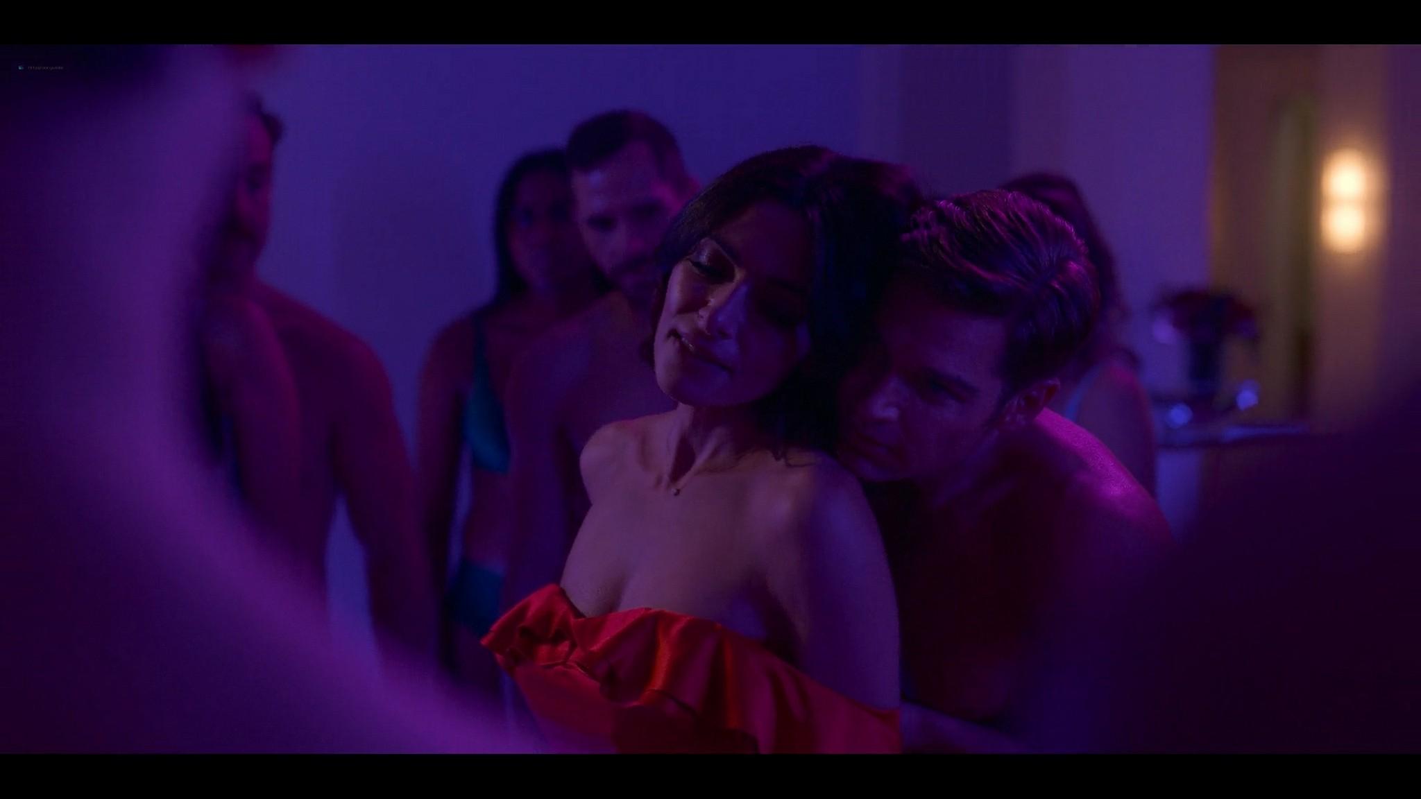 Sarah Shahi nude sex others sex orgy Sex Life 2021 s1e7 8 1080p Web 4
