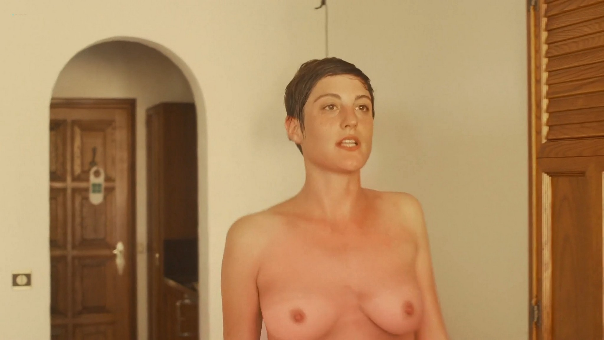 Carole Le Page nude full frontal Sophie Letourneur Lolita Chammah nude too Les coquillettes FR 2012 1080p Web 12