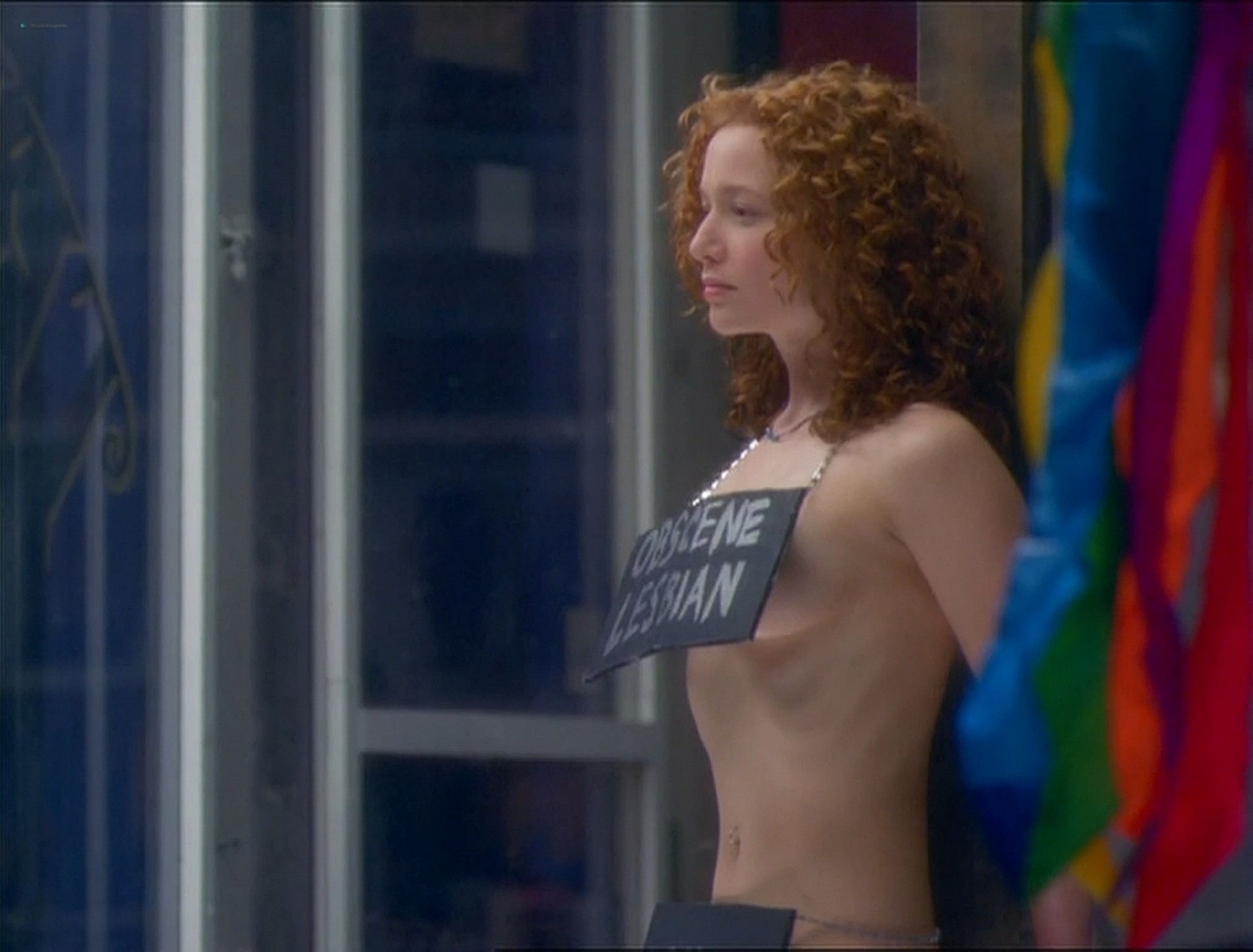 Christina Cox nude bush lesbian sex with Karyn Dwyer nude too Better than Chocolate 1999 HD 720p WEB DL 14
