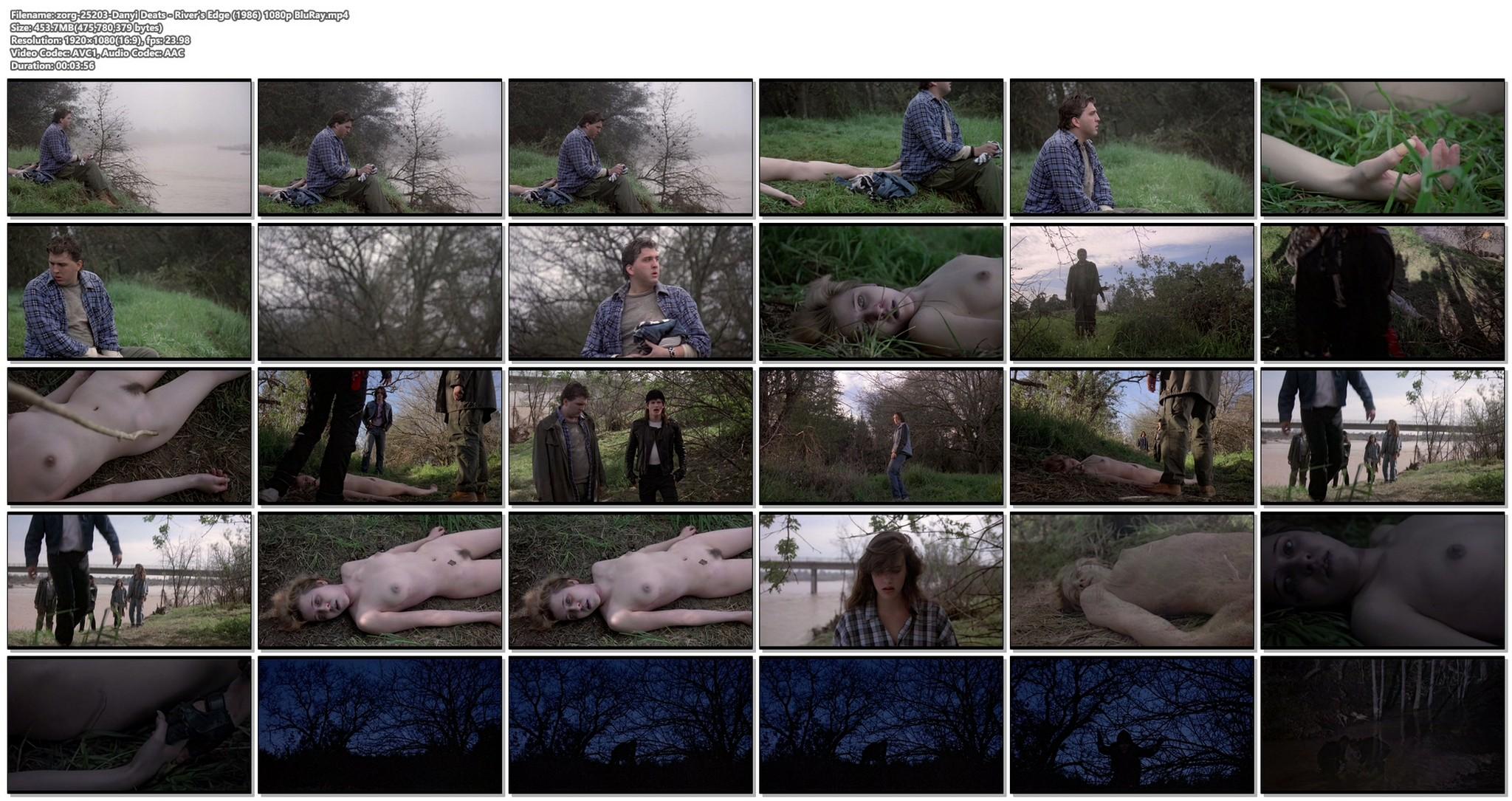 Danyi Deats nude bush topless but dead Rivers Edge 1986 HD 1080p BluRay 15