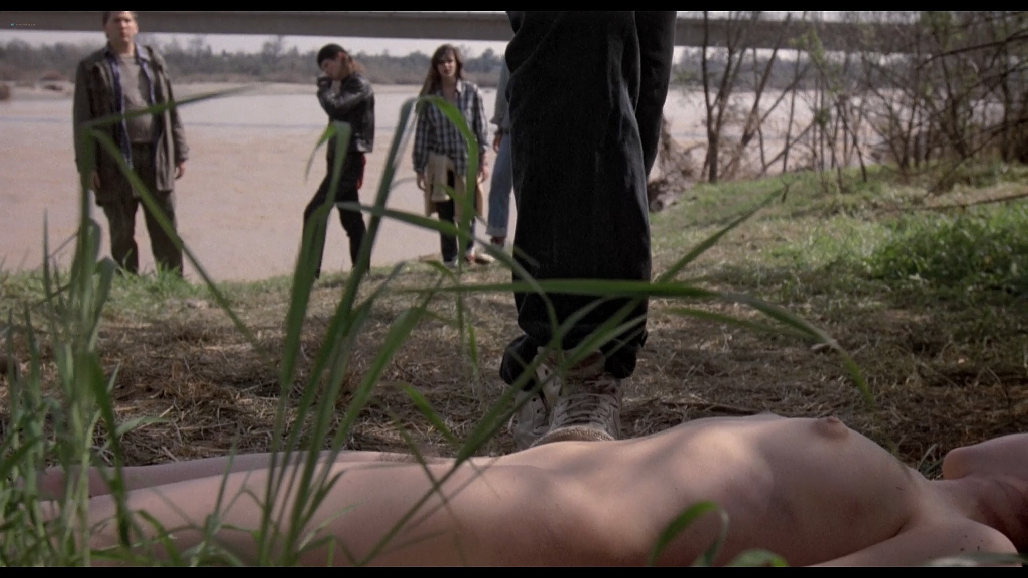 Danyi Deats nude bush topless but dead Rivers Edge 1986 HD 1080p BluRay 7