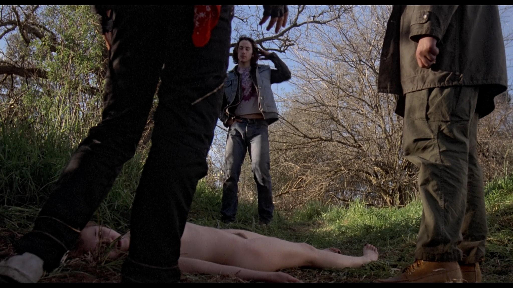 Danyi Deats nude bush topless but dead Rivers Edge 1986 HD 1080p BluRay 9