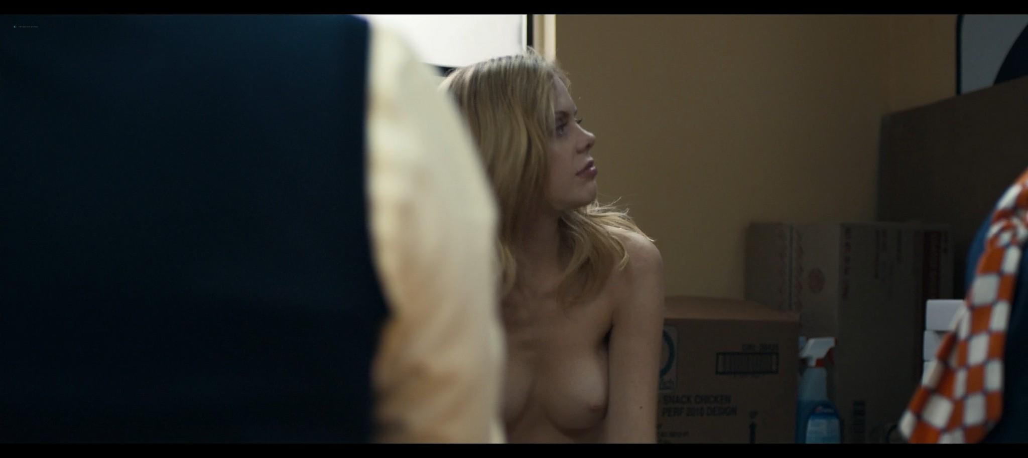 Dreama Walker nude topless Compliance 2012 HD 1080p BluRay REMUX 3