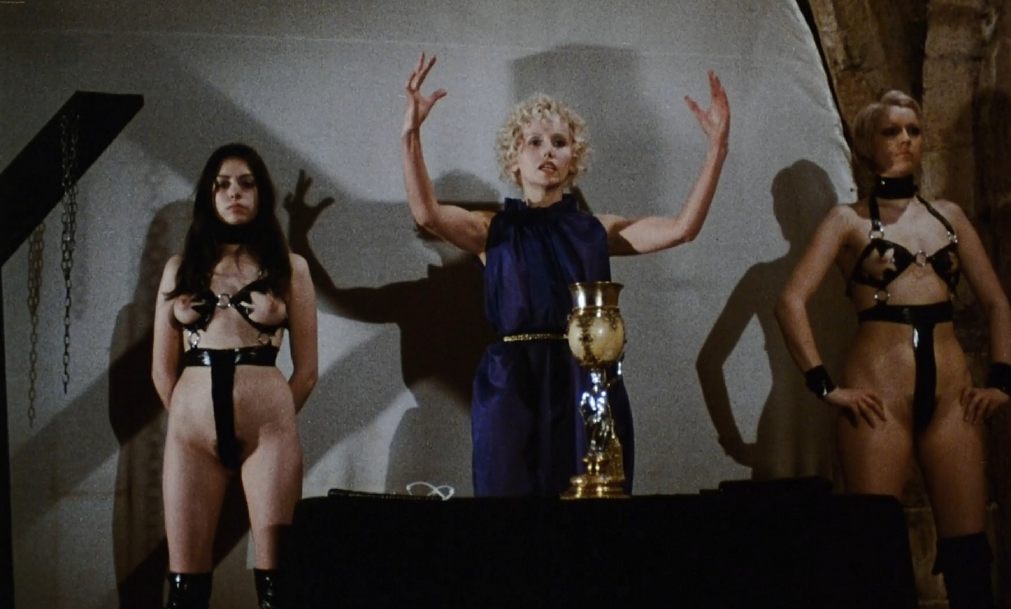 Lina Romay nude full frontal others nude too The Sadist of Notre Dame 1979 1080p BluRay 8