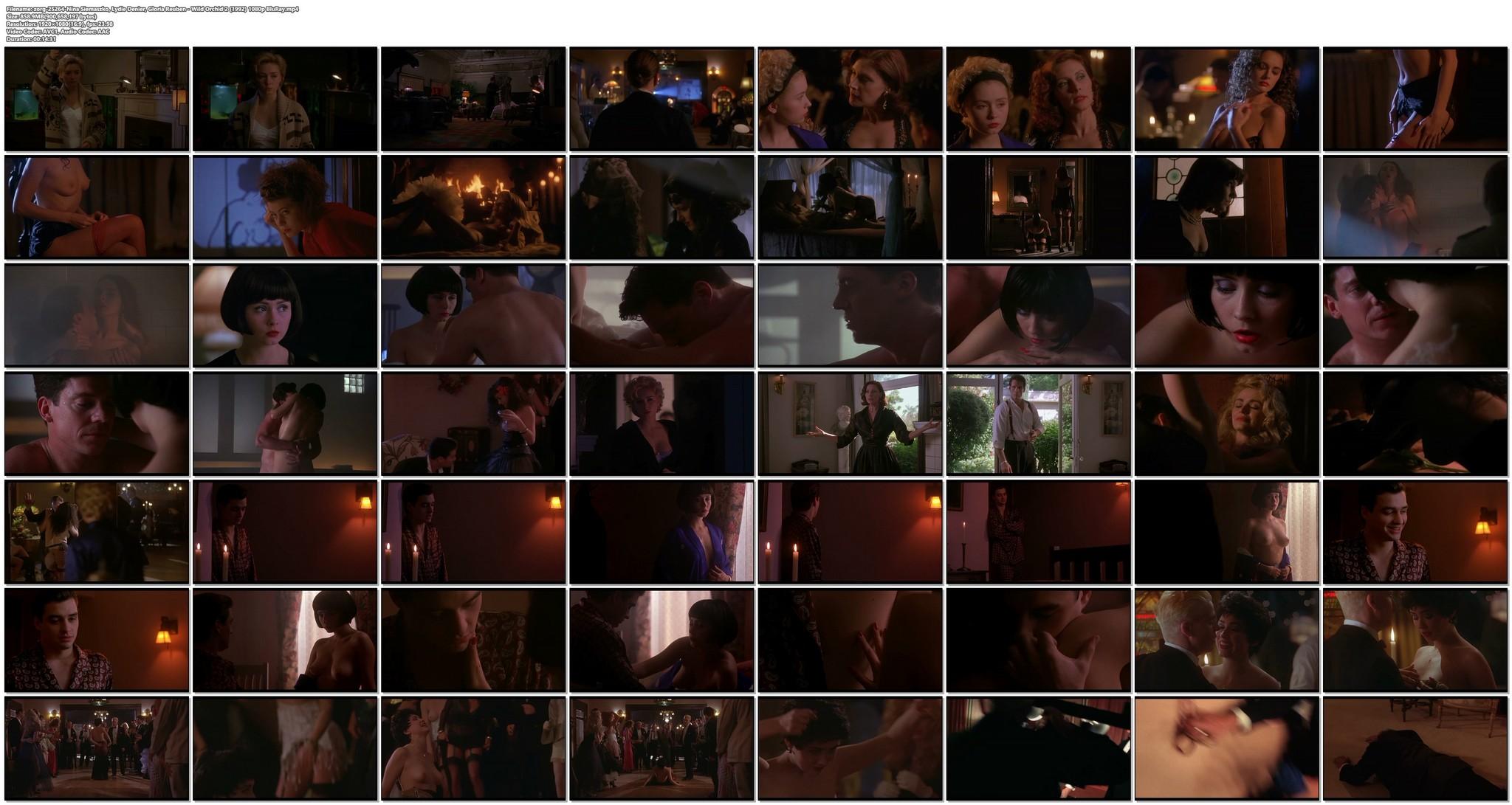 Nina Siemaszko nude sex Lydie Denier Gloria Reuben and others nude sex Wild Orchid 2 1992 1080p BluRay 20