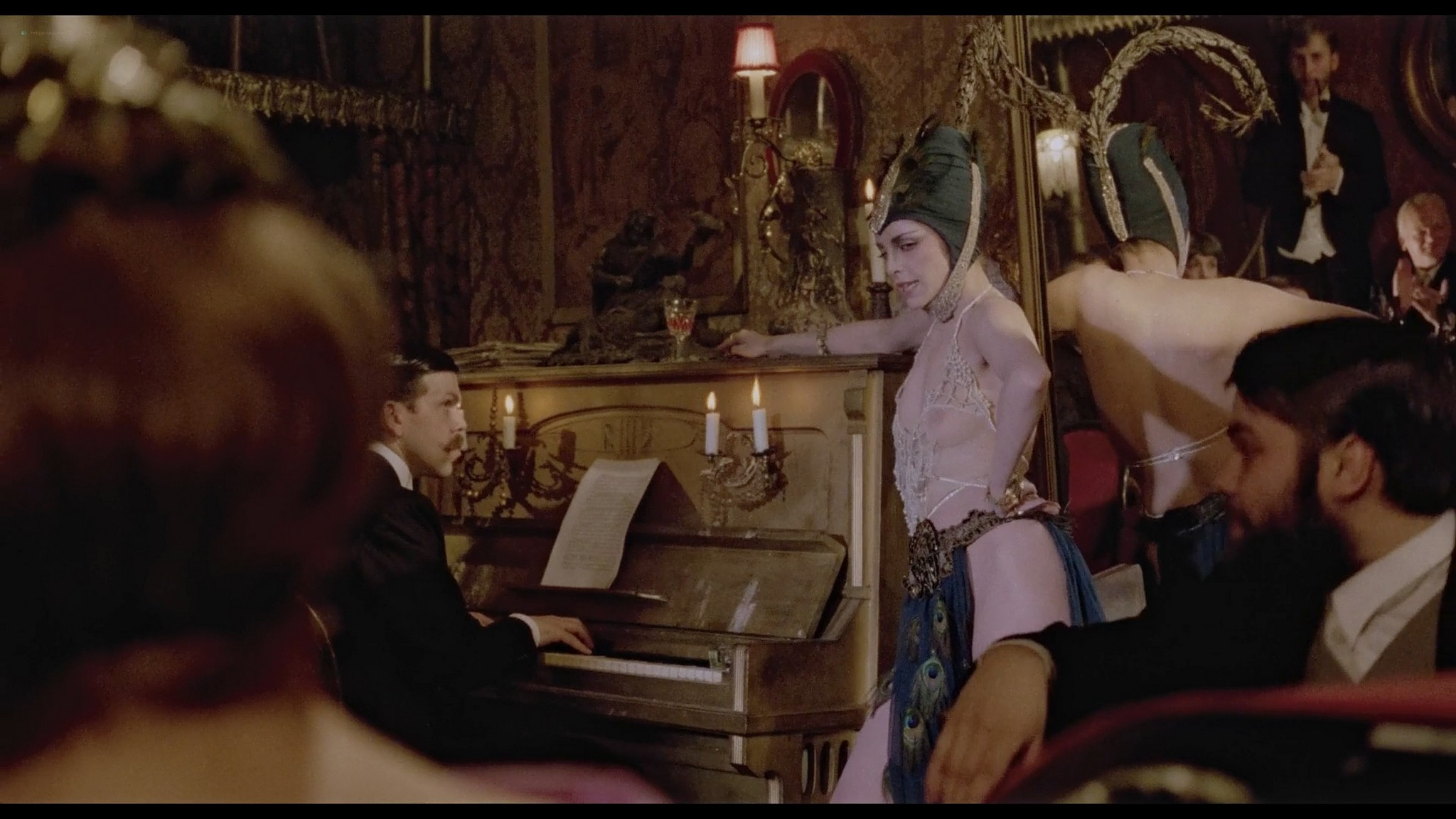 Sydne Rome hot see through and sexy Just a Gigolo 1978 1080p BluRay 8