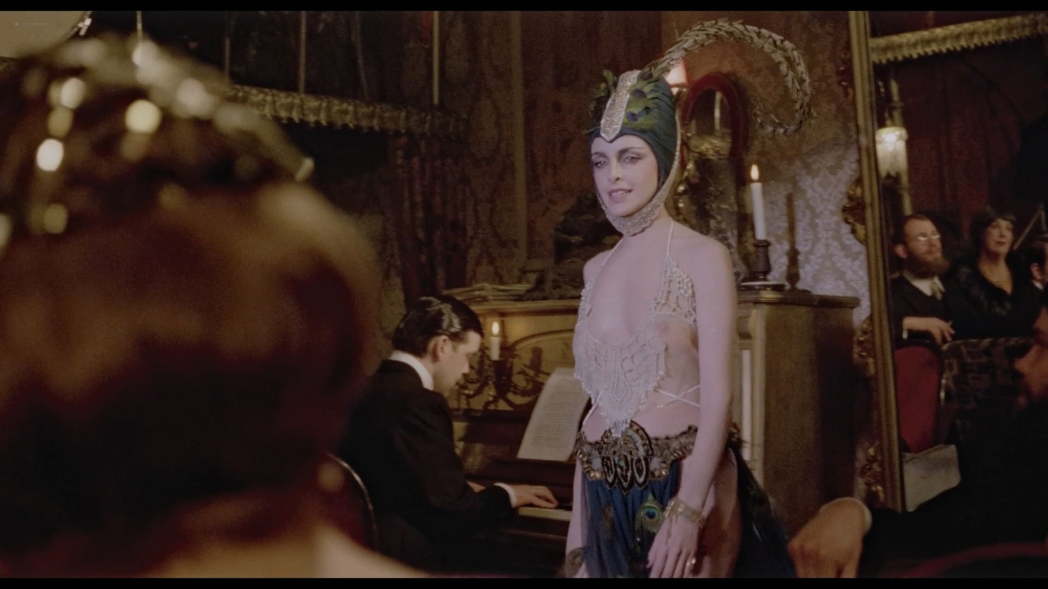 Sydne Rome hot see through and sexy Just a Gigolo 1978 1080p BluRay 9