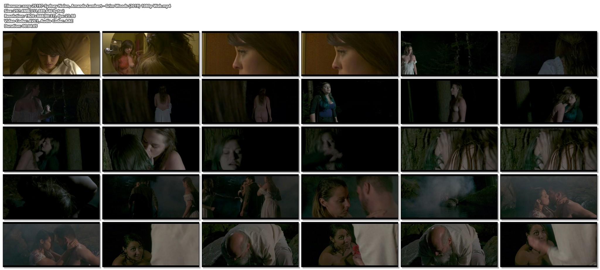Sydney Nolan nude Amanda Lambert nude bush Grim Woods 2019 1080p Web 15