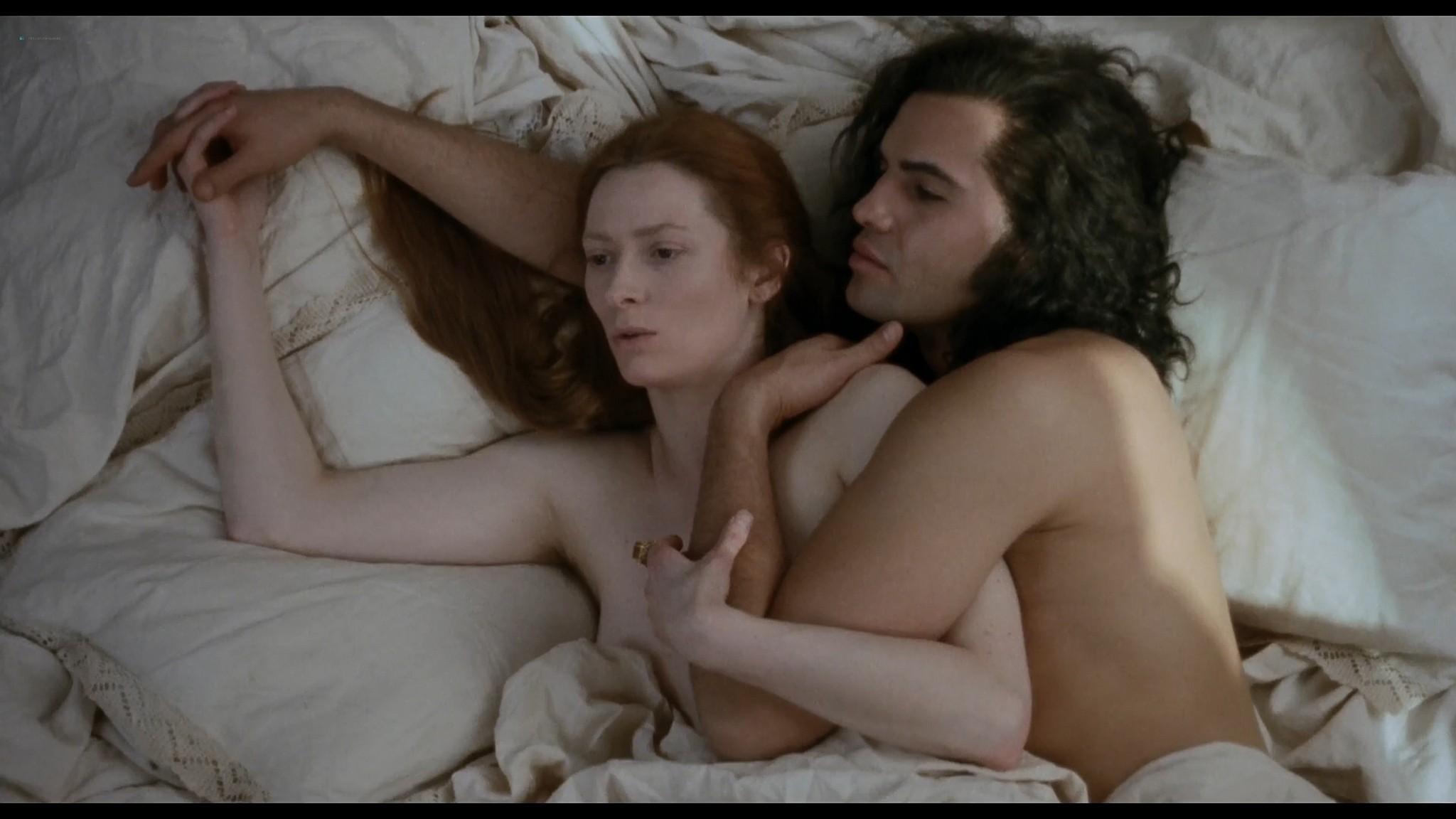 Tilda Swinton naked full frontal nude Orlando 1992 HD 1080p BluRay 11