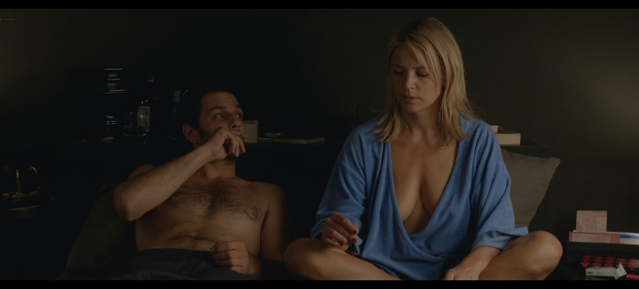 Virginie Efira nude topless and sex Victoria FR 2016 HD 1080p BluRay REMUX 4
