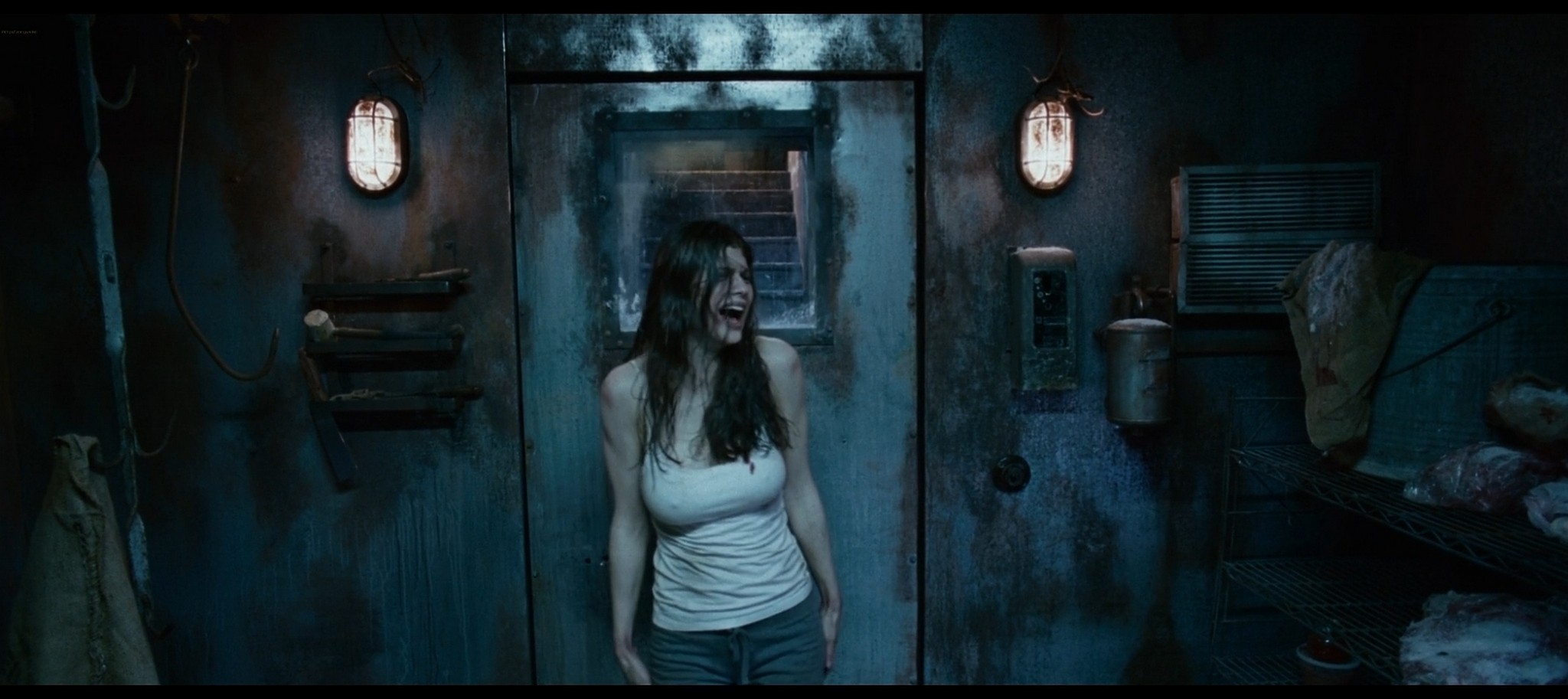 Alexandra Daddario hot sexy and see through from Bereavement 2010 HD 1080p BluRay 10