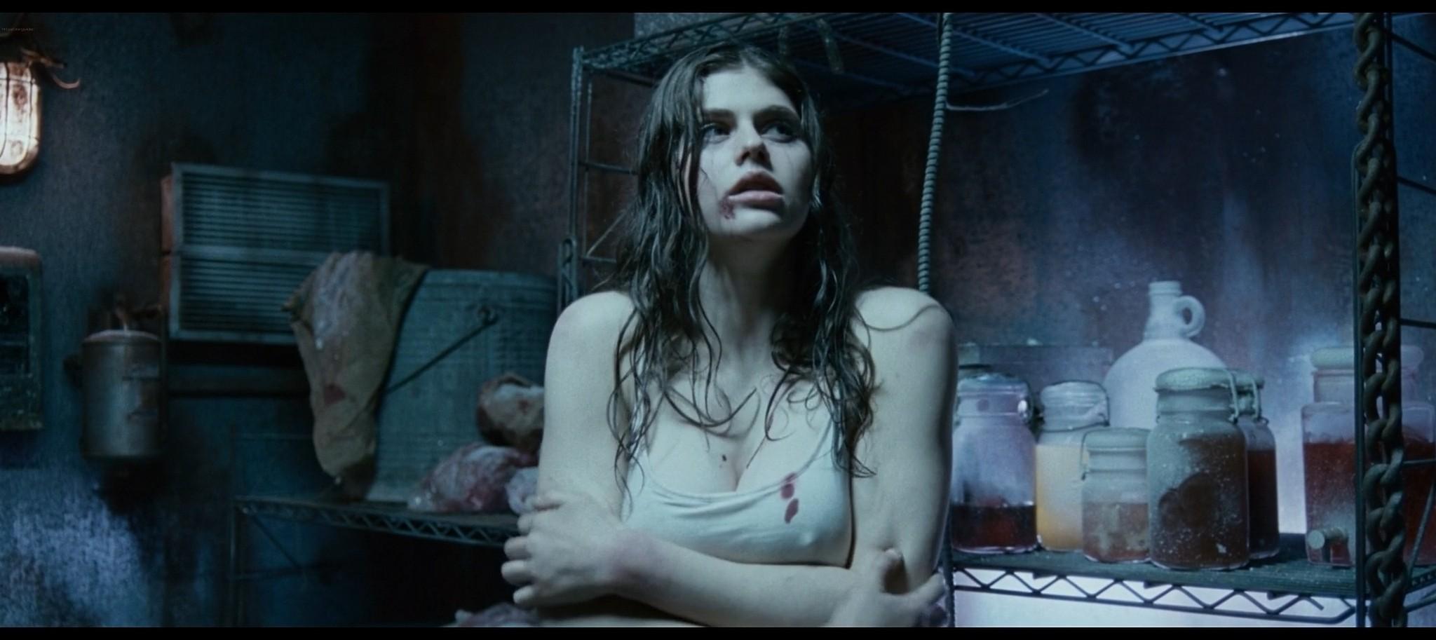 Alexandra Daddario hot sexy and see through from Bereavement 2010 HD 1080p BluRay 11
