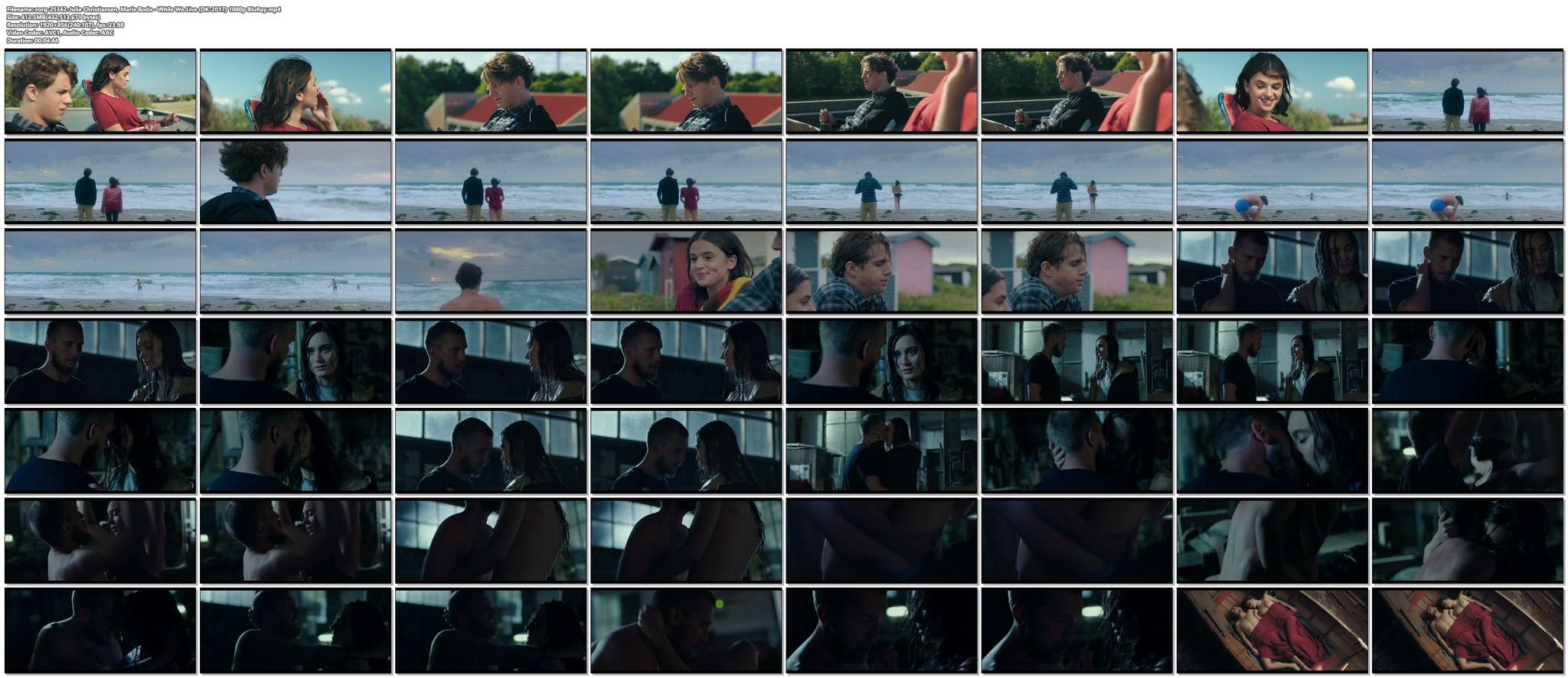 Julie Christiansen nude sex Marie Boda sexy While We Live DK 2017 1080p BluRay 15