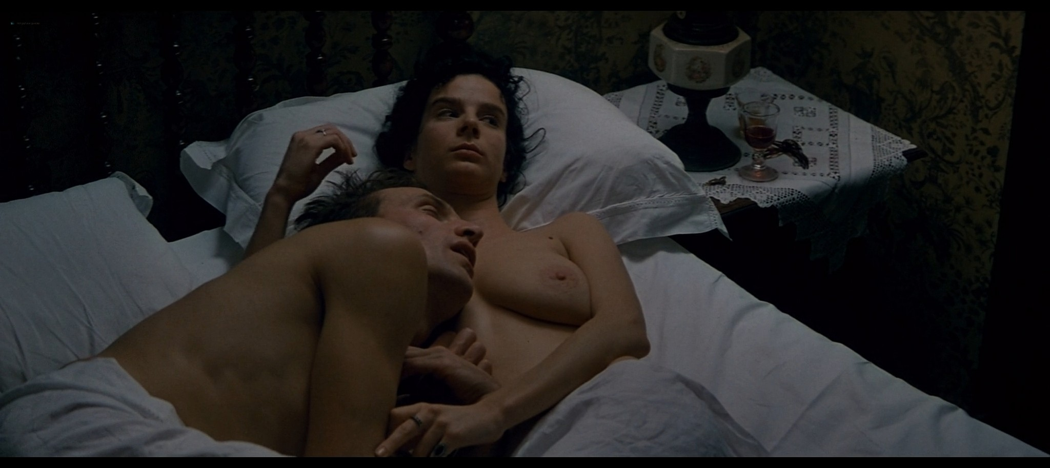 Kate Winslet nude bush and topless and Rachel Griffiths nude topless Jude 1996 1080p Web 6