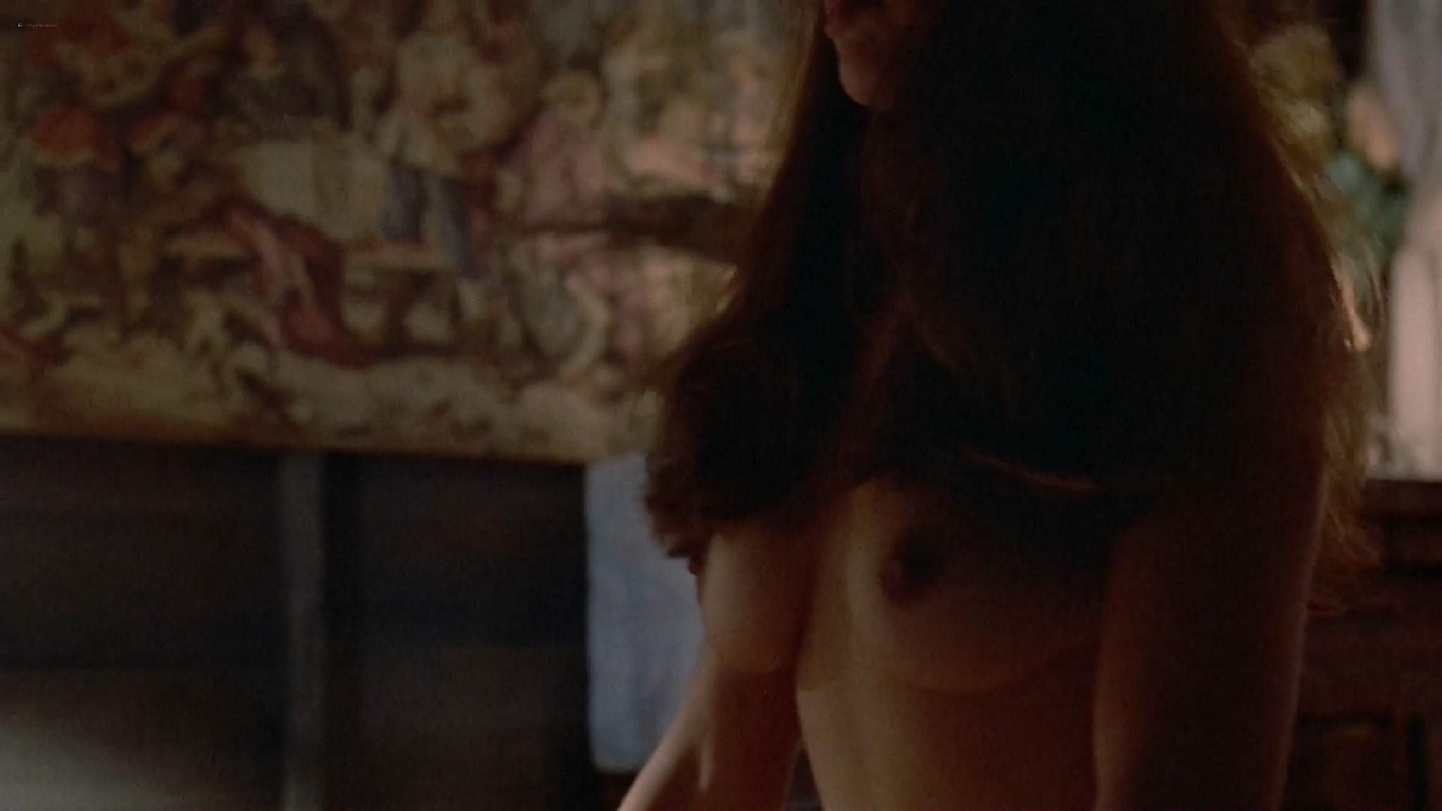 Katherine Barrese nude bush topless and hot sex Jezebels Kiss 1990 1080p Web 12