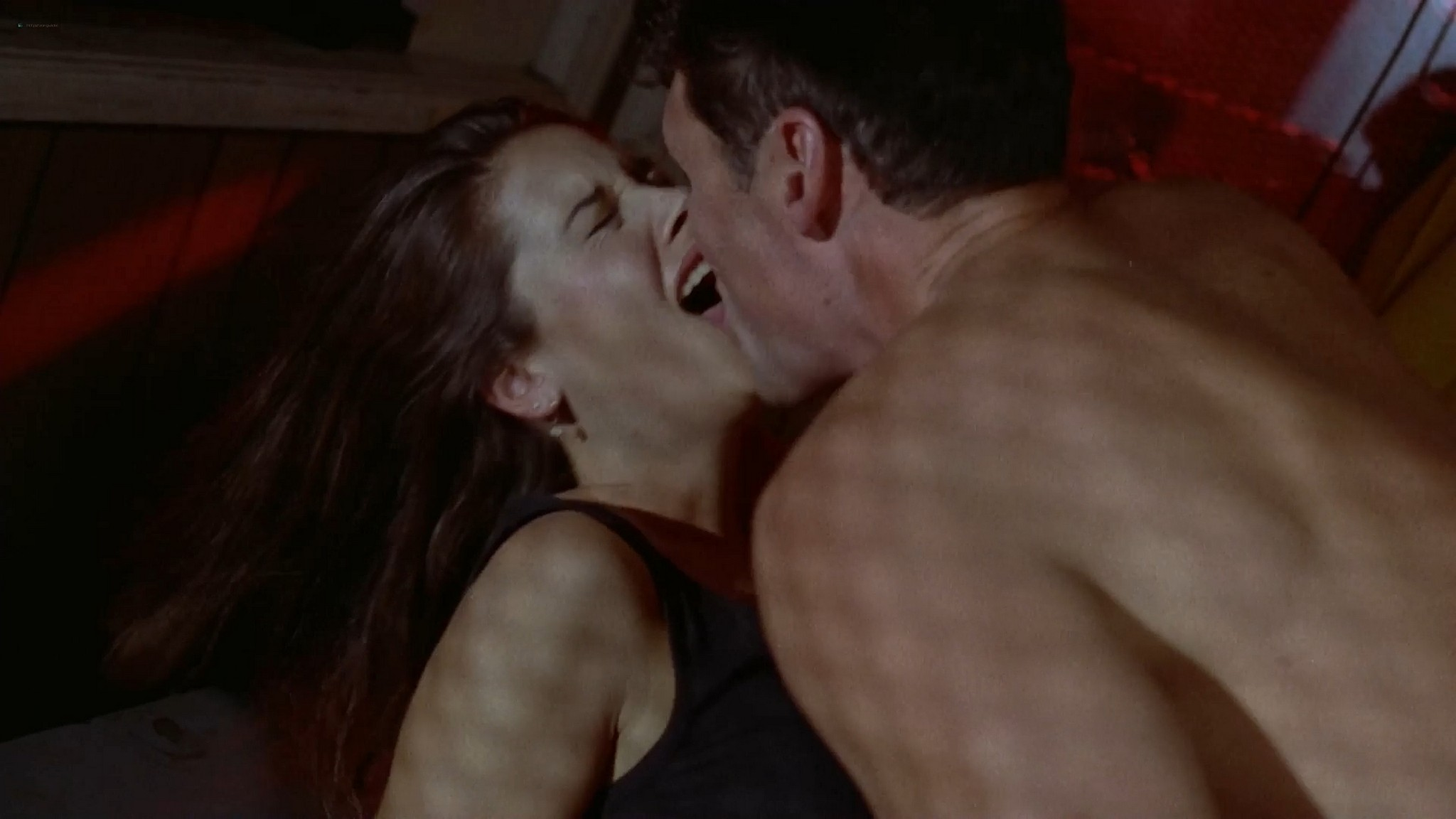 Katherine Barrese nude bush topless and hot sex Jezebels Kiss 1990 1080p Web 3