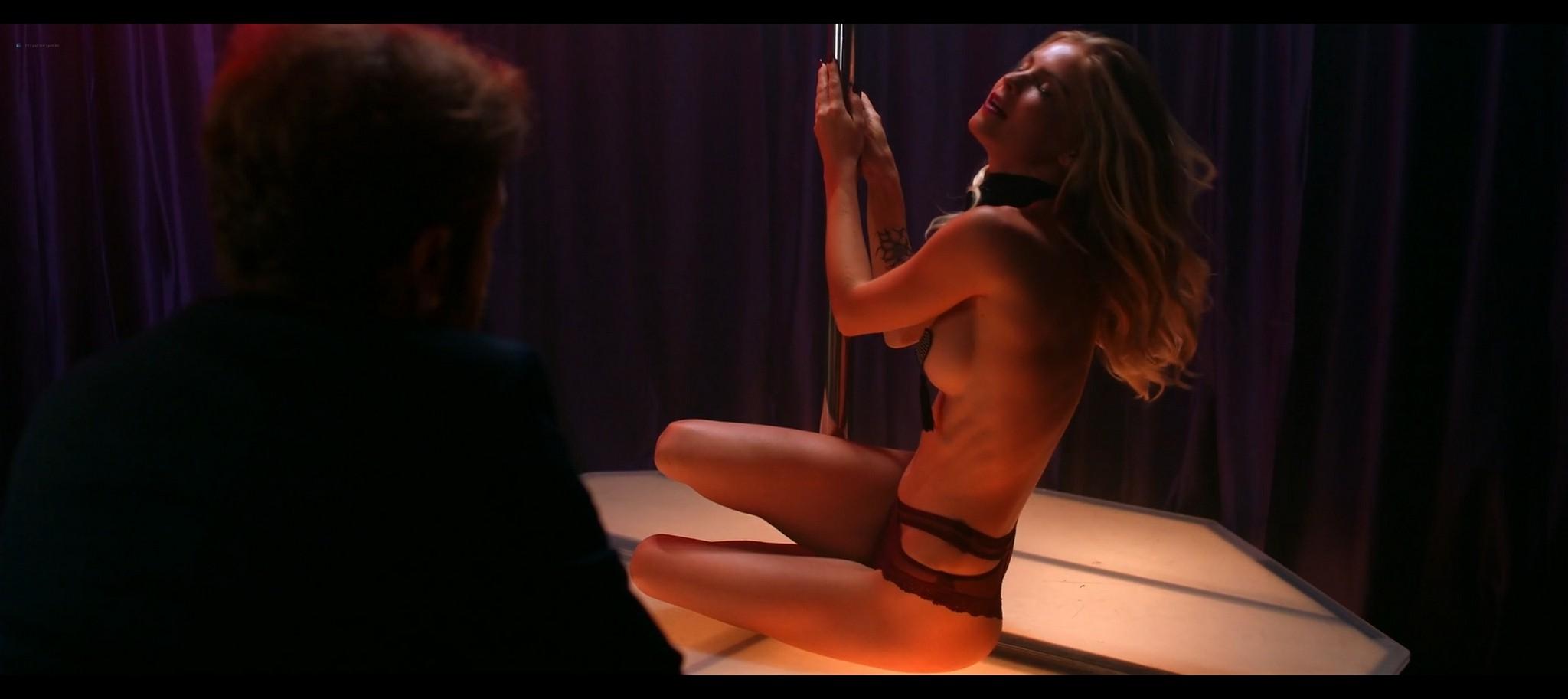 Kenzie Dalton hot Drue Knapp Ava Locklear sexy A Dark Foe 2021 1080p Web 12