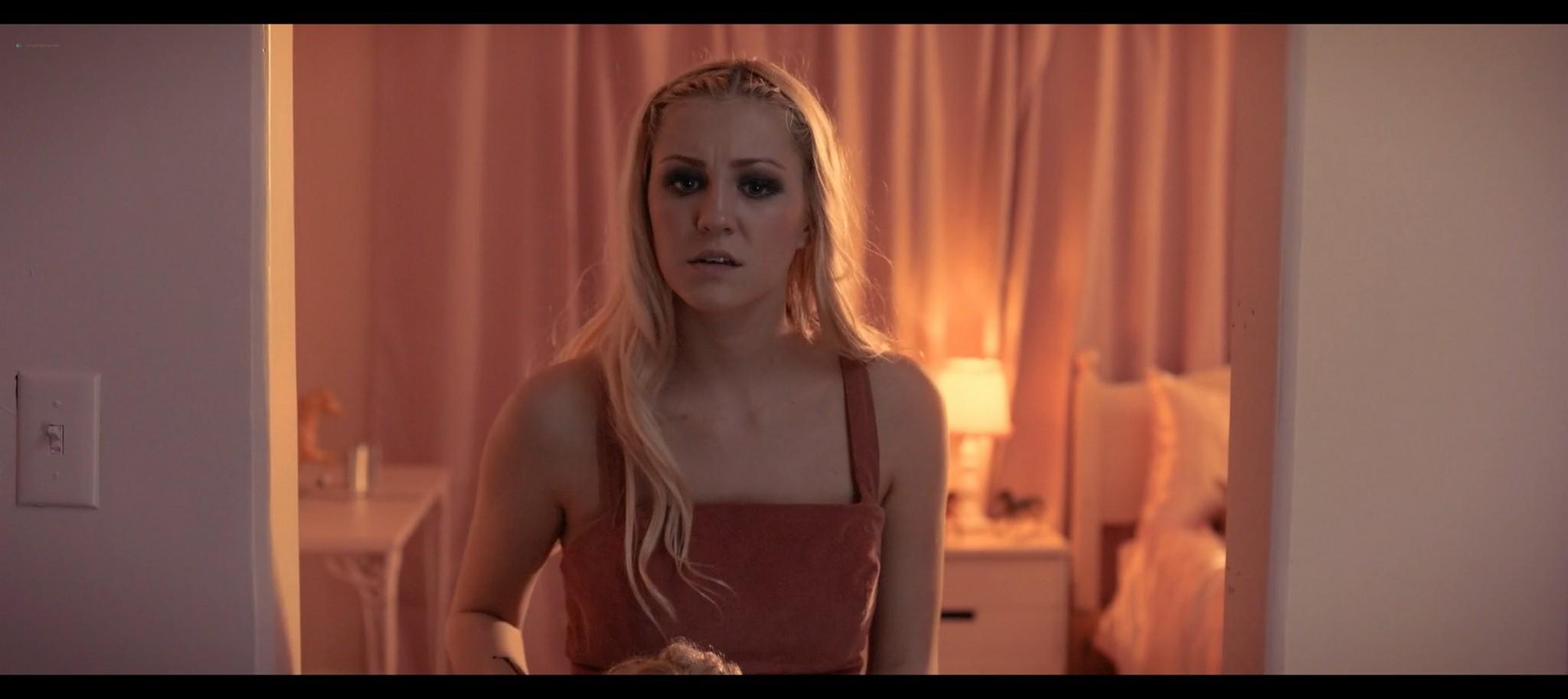 Kenzie Dalton hot Drue Knapp Ava Locklear sexy A Dark Foe 2021 1080p Web 7