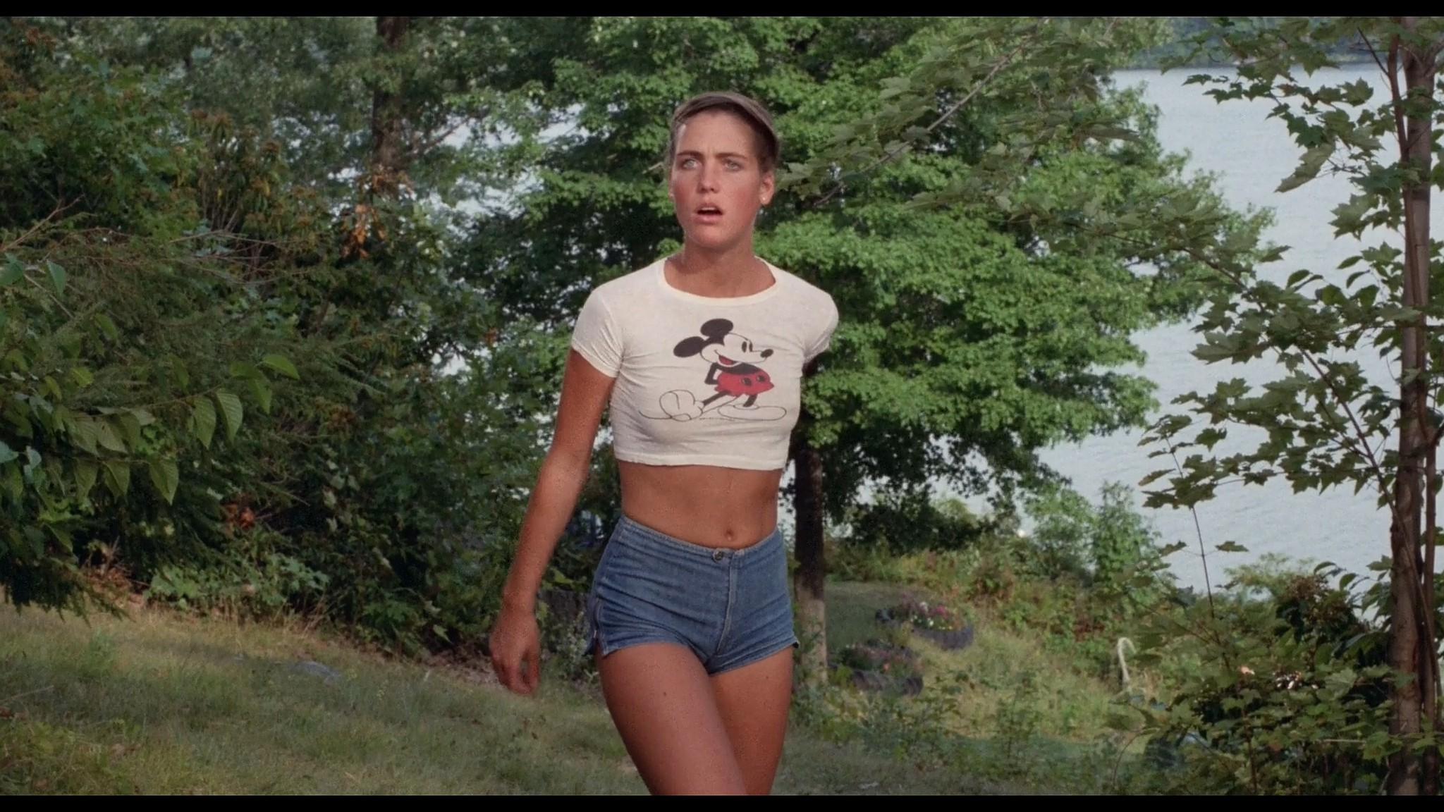 Kirsten Baker nude full frontal Amy Steel and others sexy Friday the 13th Part 2 1981 1080p BluRay 2