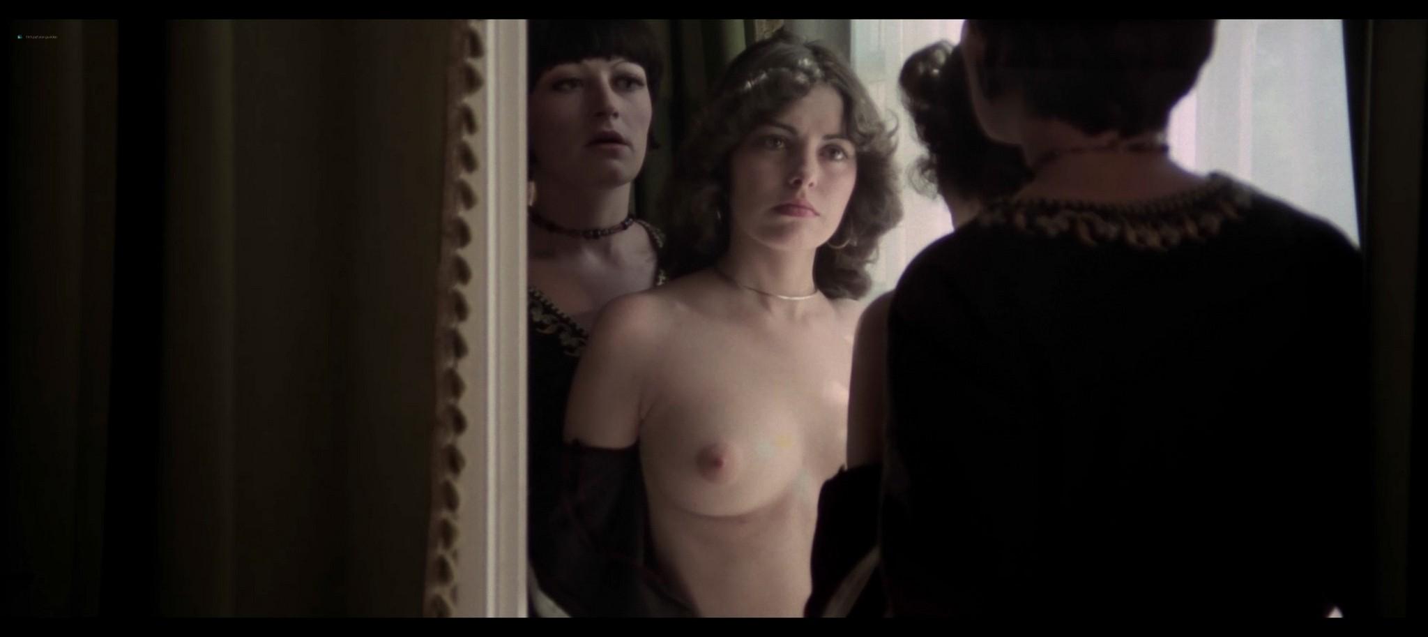 Lina Romay nude explicit and sex Evelyne Scott Monica Swinn nude full frontal Shining Sex 1976 1080p BluRay 9
