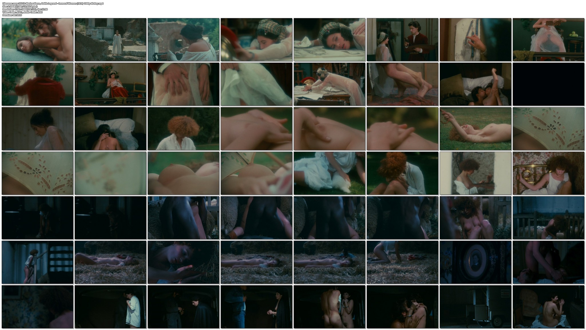 Marina Pierro nude sex Gaelle Legrand and Pascale Christophe nude bush and sex Les heroines du mal 1979 1080p BluRay REMUX 24