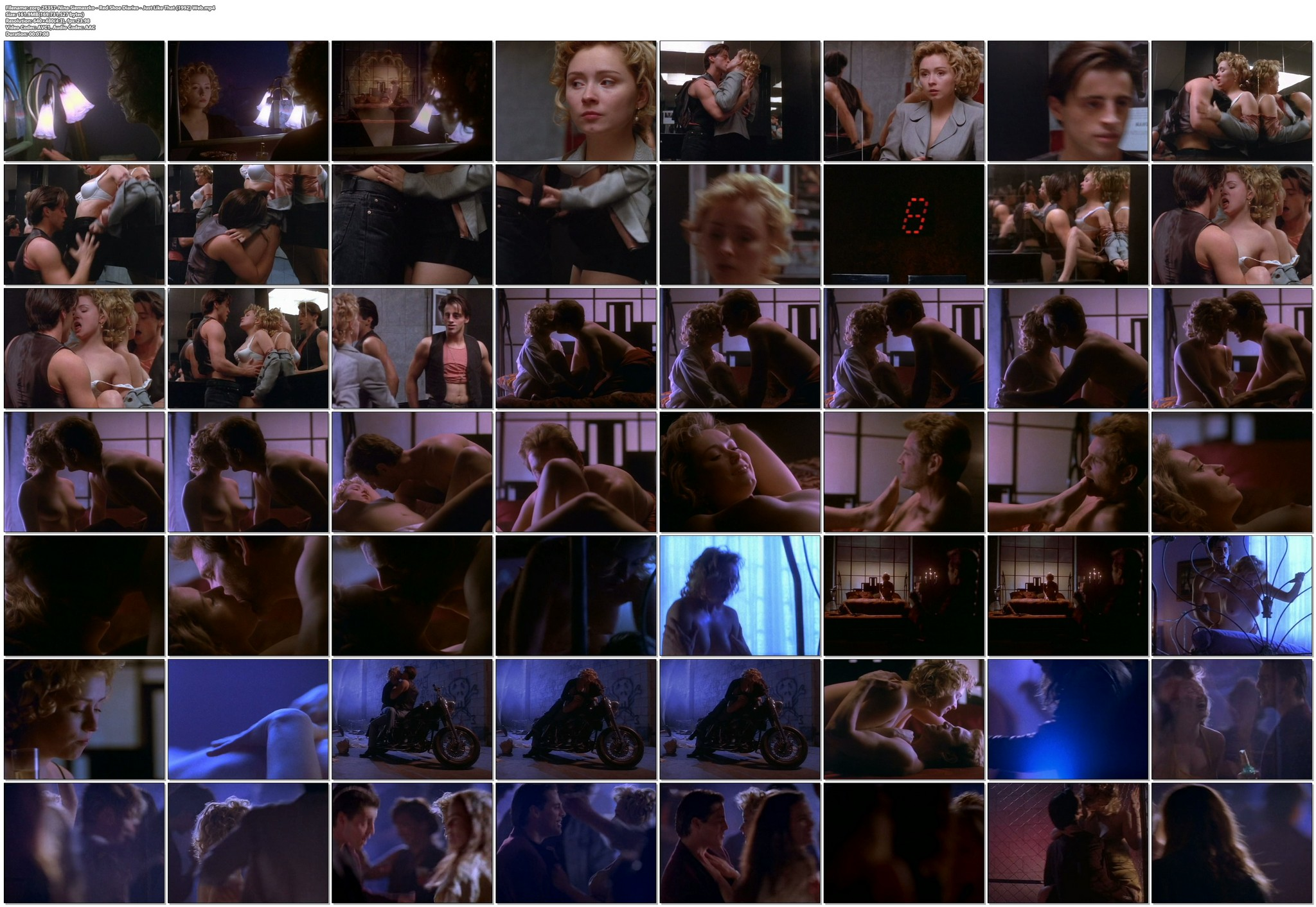Nina Siemaszko nude sex Red Shoe Diaries Just Like That 1992 s1e5 Web 17