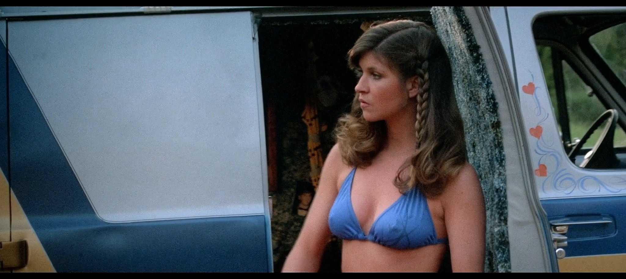 Tracie Savage nude in the shower Friday the 13th Part 3 1982 BluRay 6
