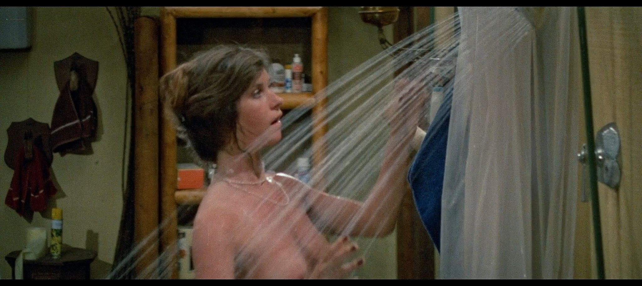 Tracie Savage nude in the shower Friday the 13th Part 3 1982 BluRay 9