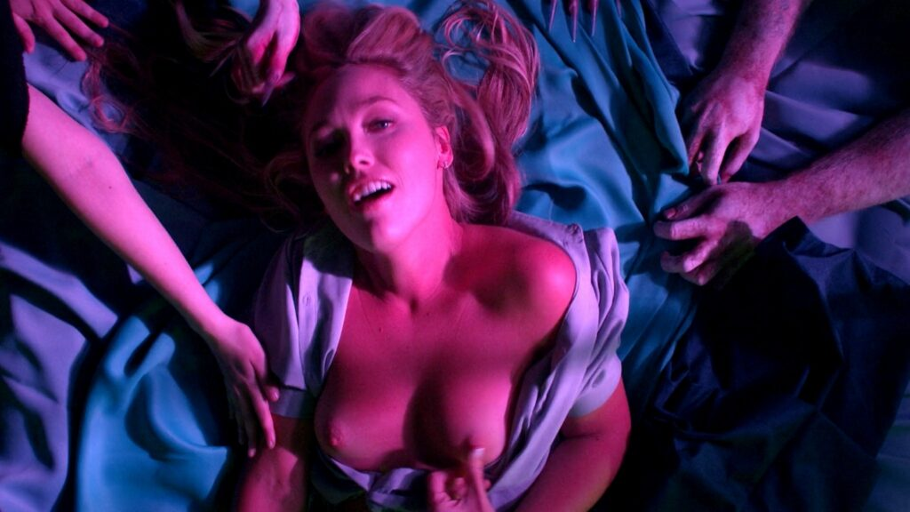 Amanda Jones nude Christina Helene Braa Hannah Hueston sexy and nude The Resonator Miskatonic U 2021 1080p Web 12