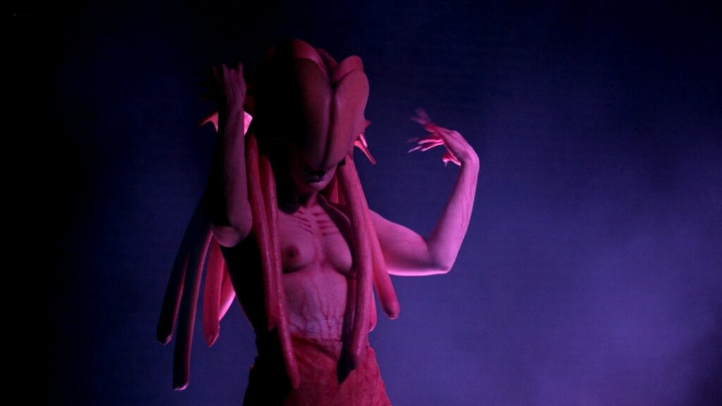 Amanda Jones nude Christina Helene Braa Hannah Hueston sexy and nude The Resonator Miskatonic U 2021 1080p Web 18