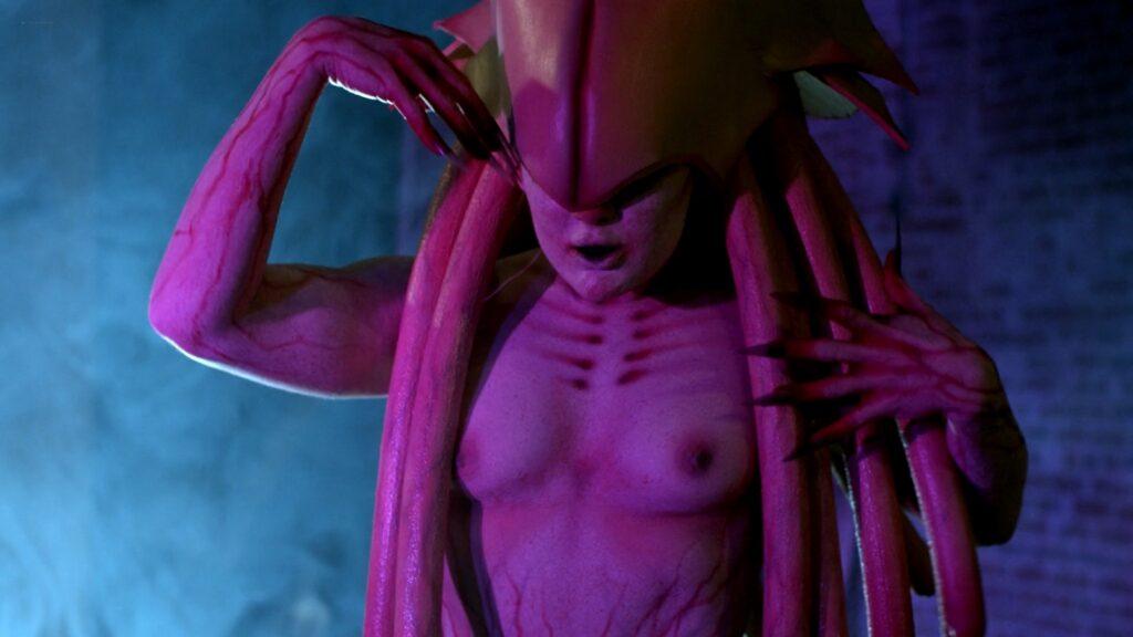 Amanda Jones nude Christina Helene Braa Hannah Hueston sexy and nude The Resonator Miskatonic U 2021 1080p Web 2