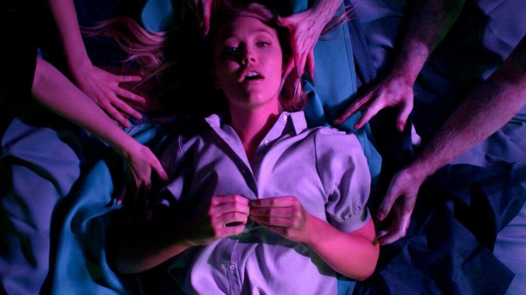 Amanda Jones nude Christina Helene Braa Hannah Hueston sexy and nude The Resonator Miskatonic U 2021 1080p Web 9