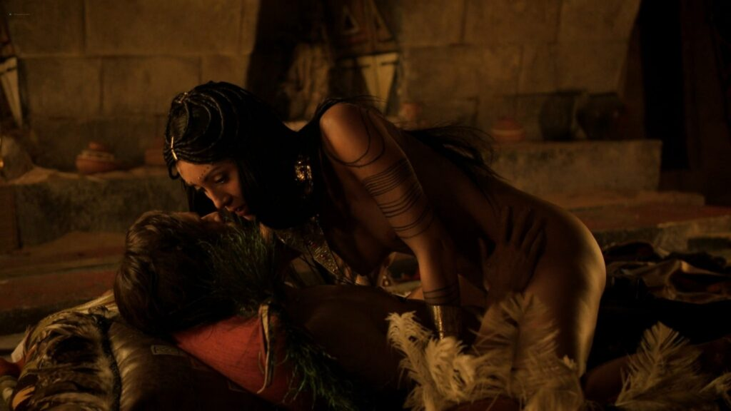 Carolina Guerra nude full frontal Da Vincis Demons 2014 S2 1080p BluRay 14