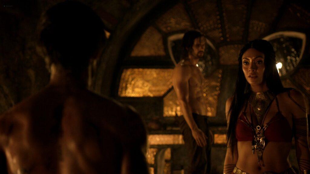 Carolina Guerra nude full frontal Da Vincis Demons 2014 S2 1080p BluRay 15