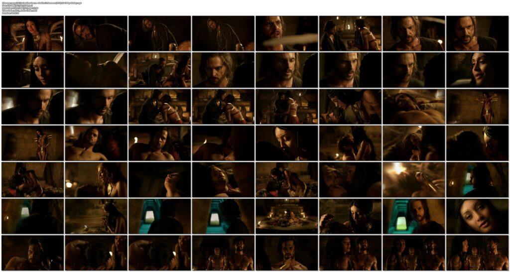 Carolina Guerra nude full frontal Da Vincis Demons 2014 S2 1080p BluRay 16